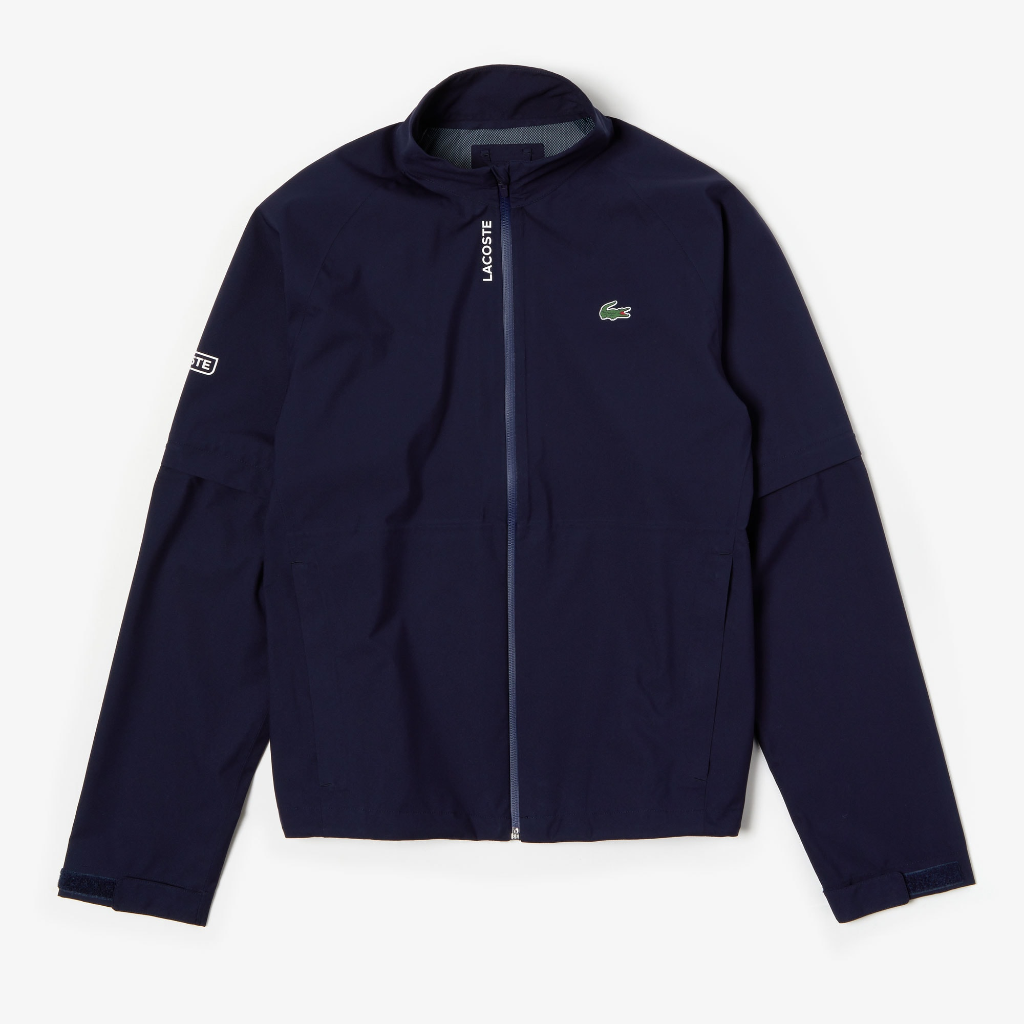 Men's Lacoste SPORT Technical Zip Golf Rain Jacket