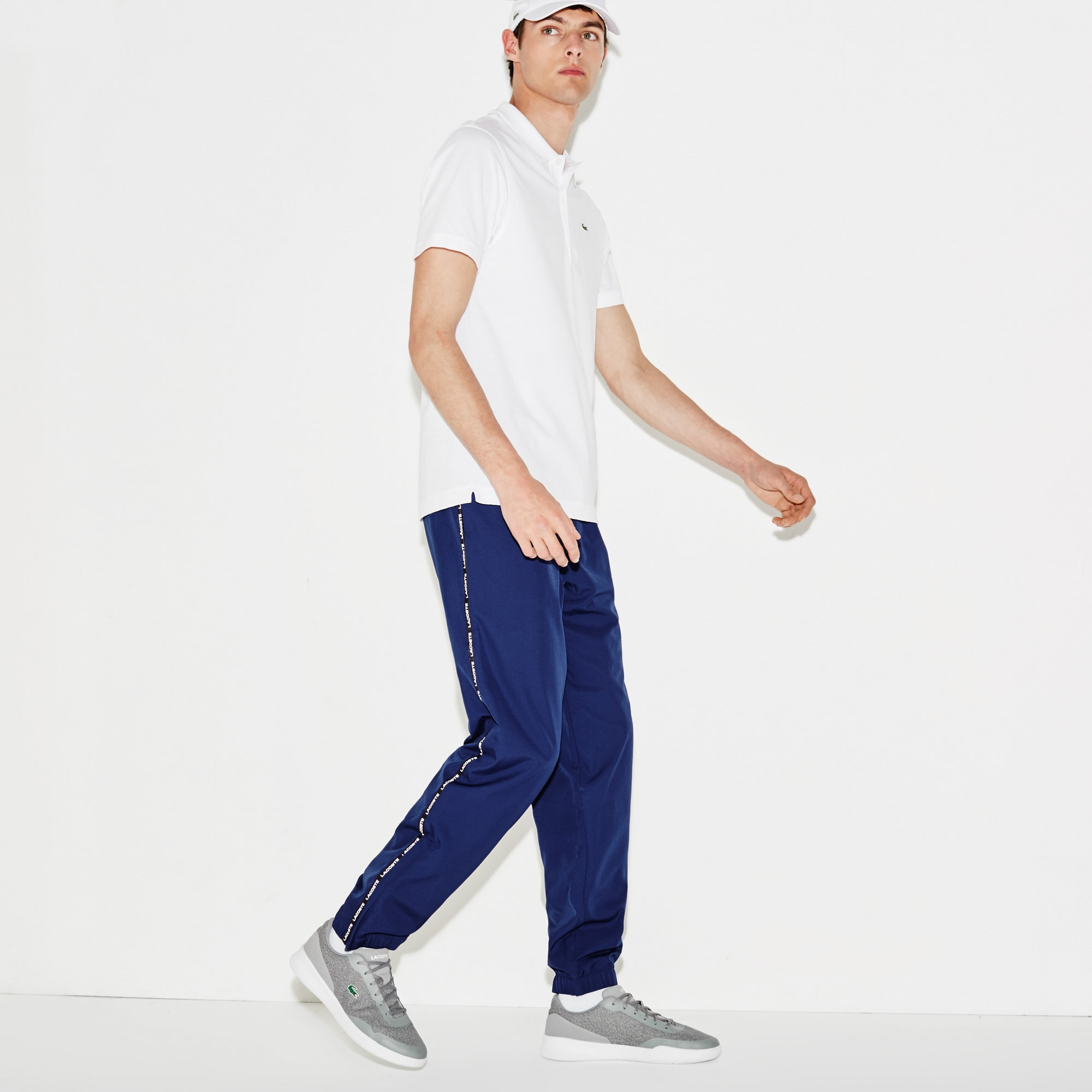 Men's Lacoste SPORT Tennis Contrast Band Sweatpants