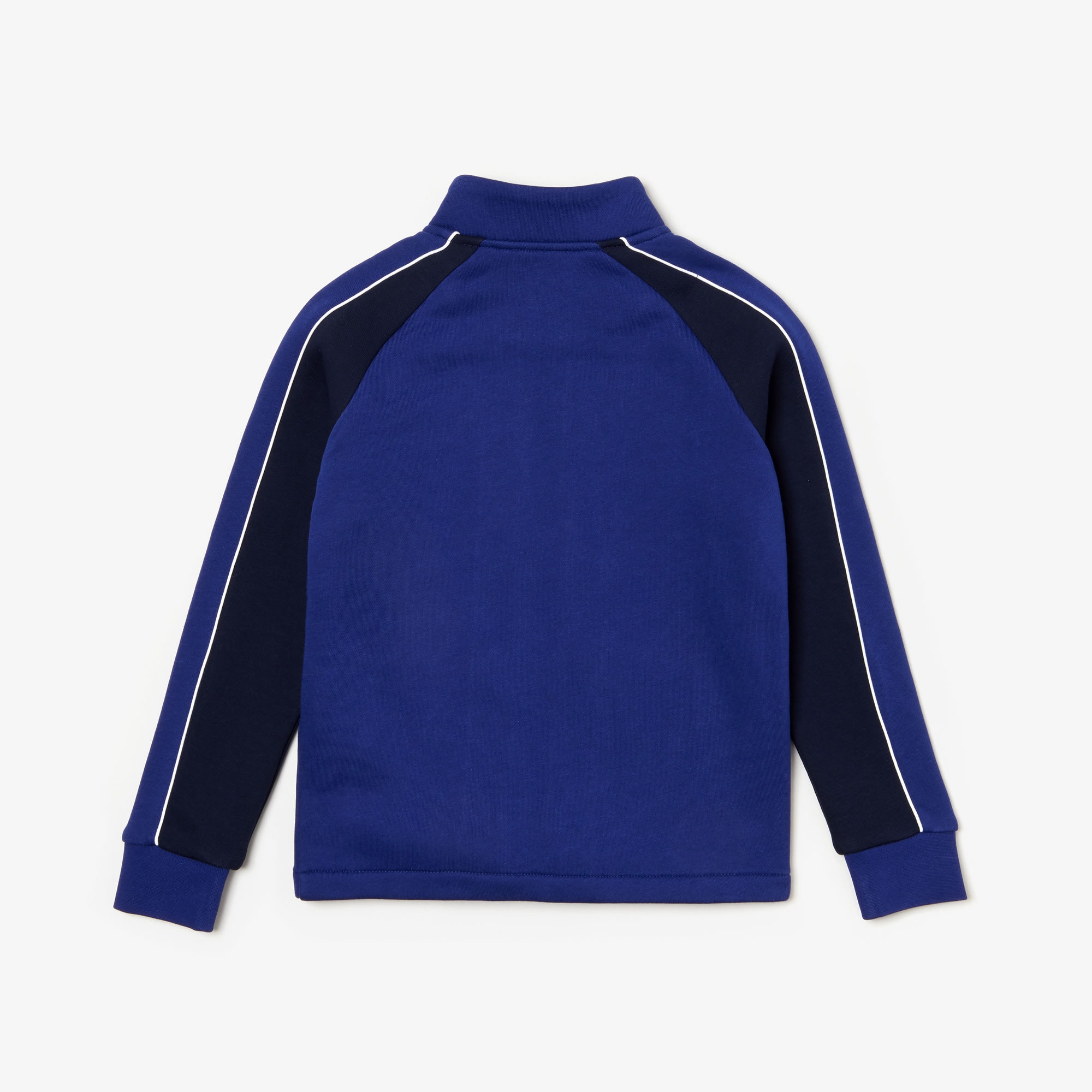 Boys' Lacoste SPORT Bicolour Fleece Zip Sweatshirt