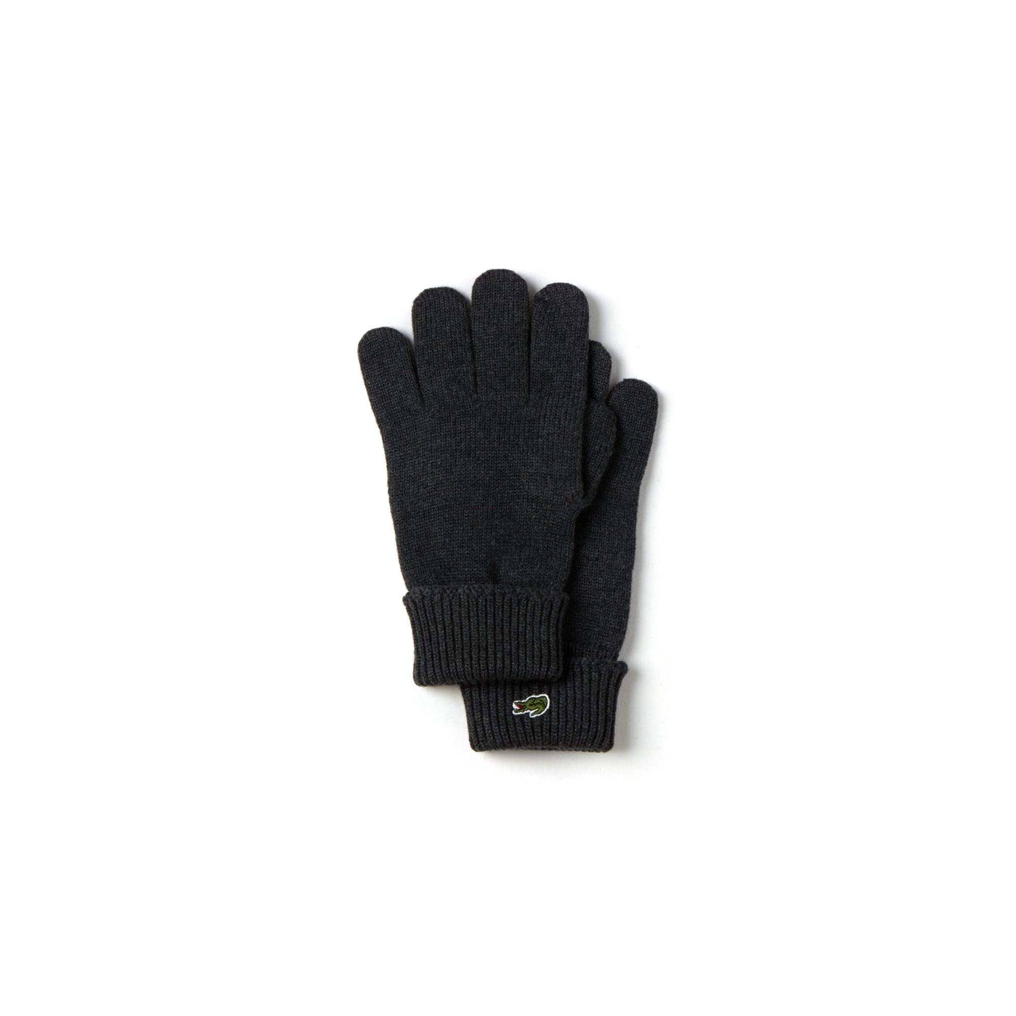 0d681d6c282590 Men s Ribbed Wool Gloves. Colour   DARK GREY JASPE. Colour   DARK GREY JASPE