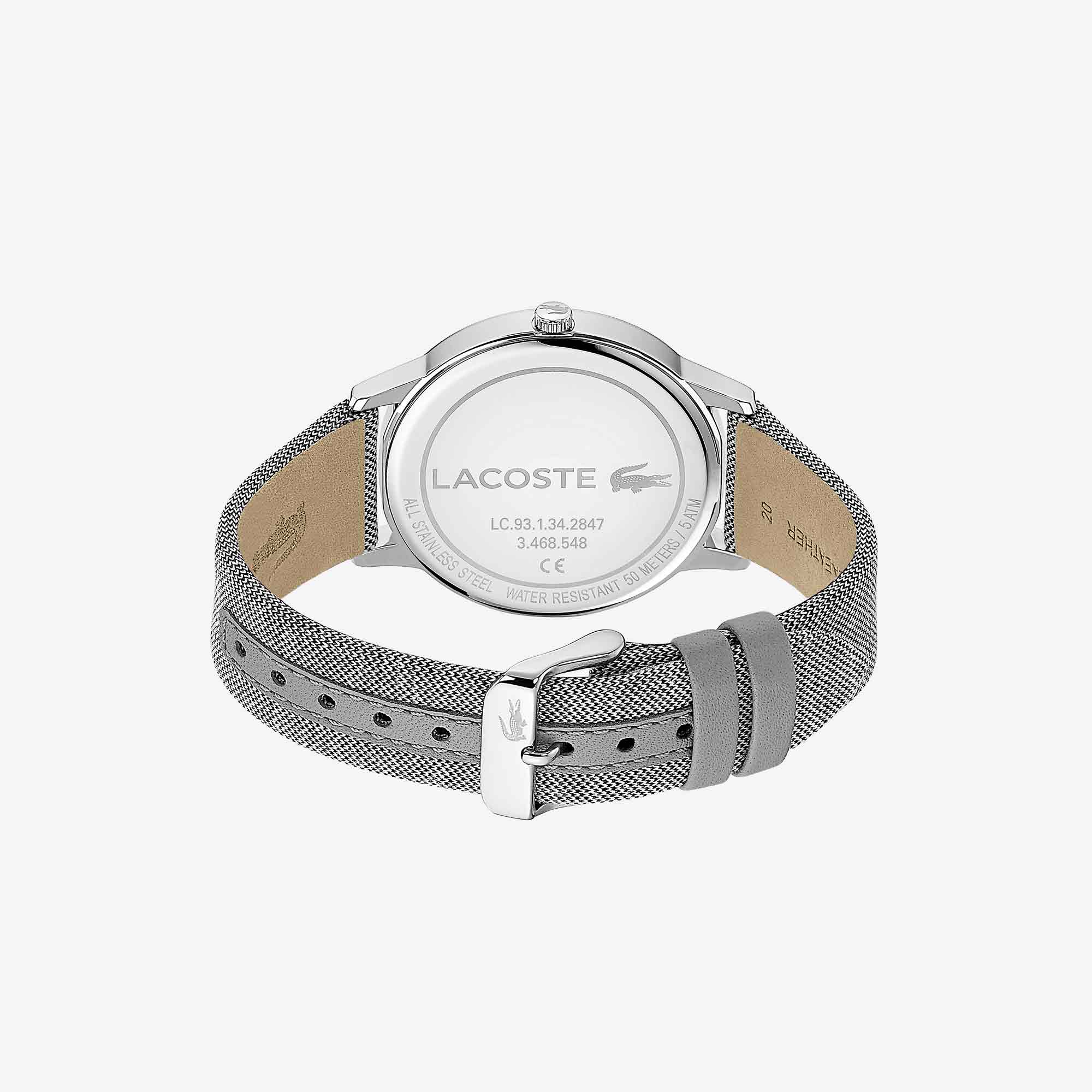 Gents Madrid Watch with Grey Fabric Strap