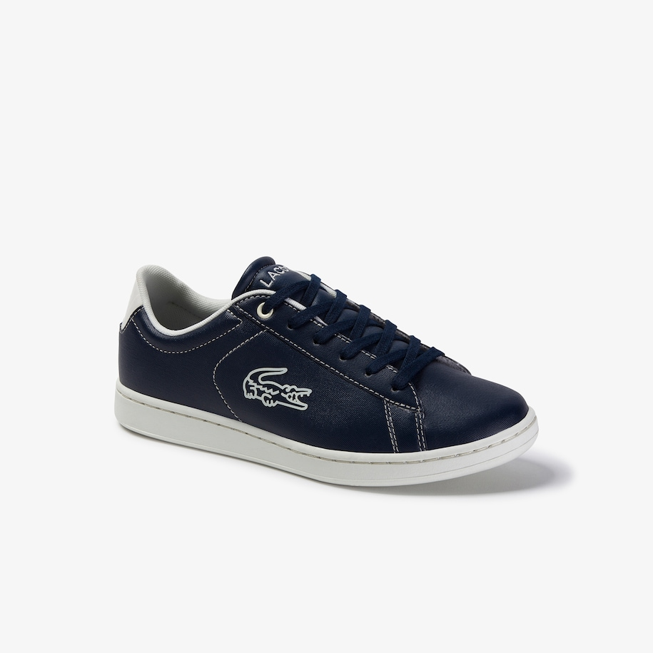 Juniors' Carnaby Evo Contrast-colour Lace-up Synthetic Trainers
