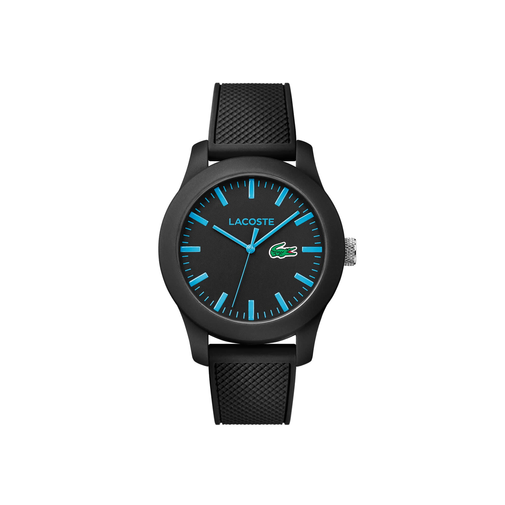 Watch Lacoste 12.12 with silicone strap