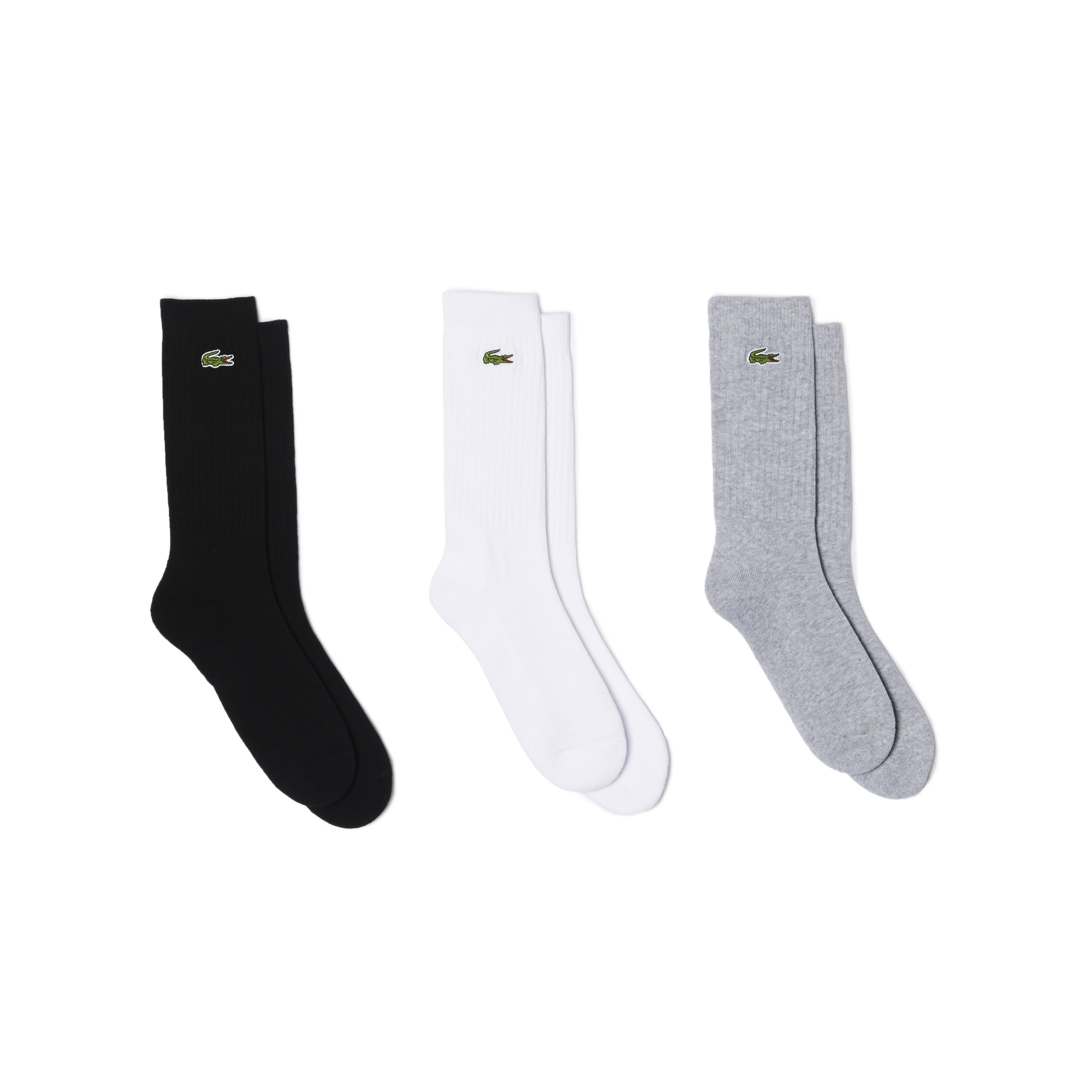 Men's Unisex Lacoste SPORT Tennis 3 Pack Of Socks