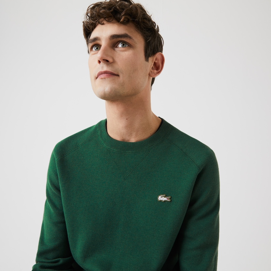 Men's Lacoste LIVE Cotton Blend Crew Neck Sweater