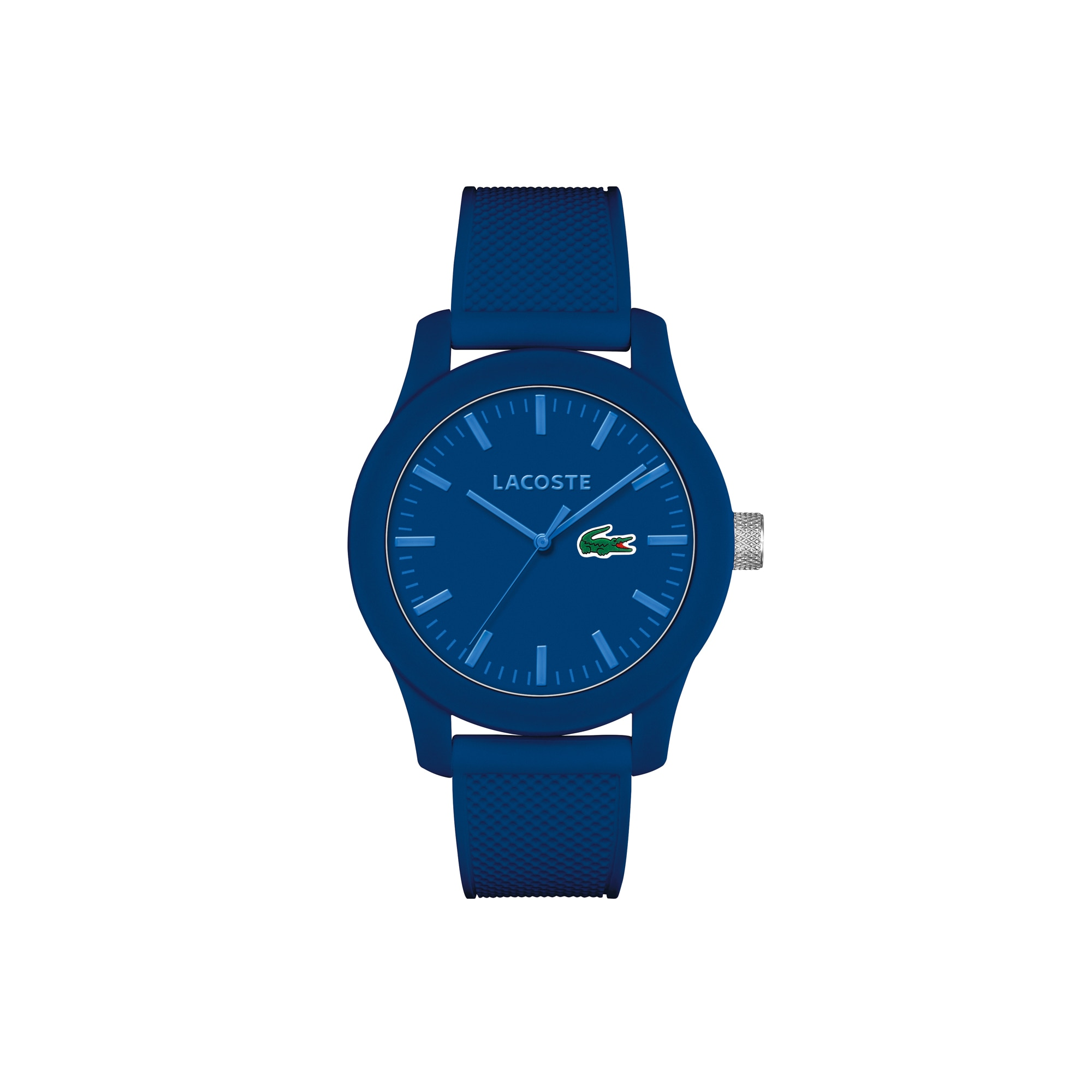 Men's Lacoste 12.12 Watch with Blue Silicone Strap