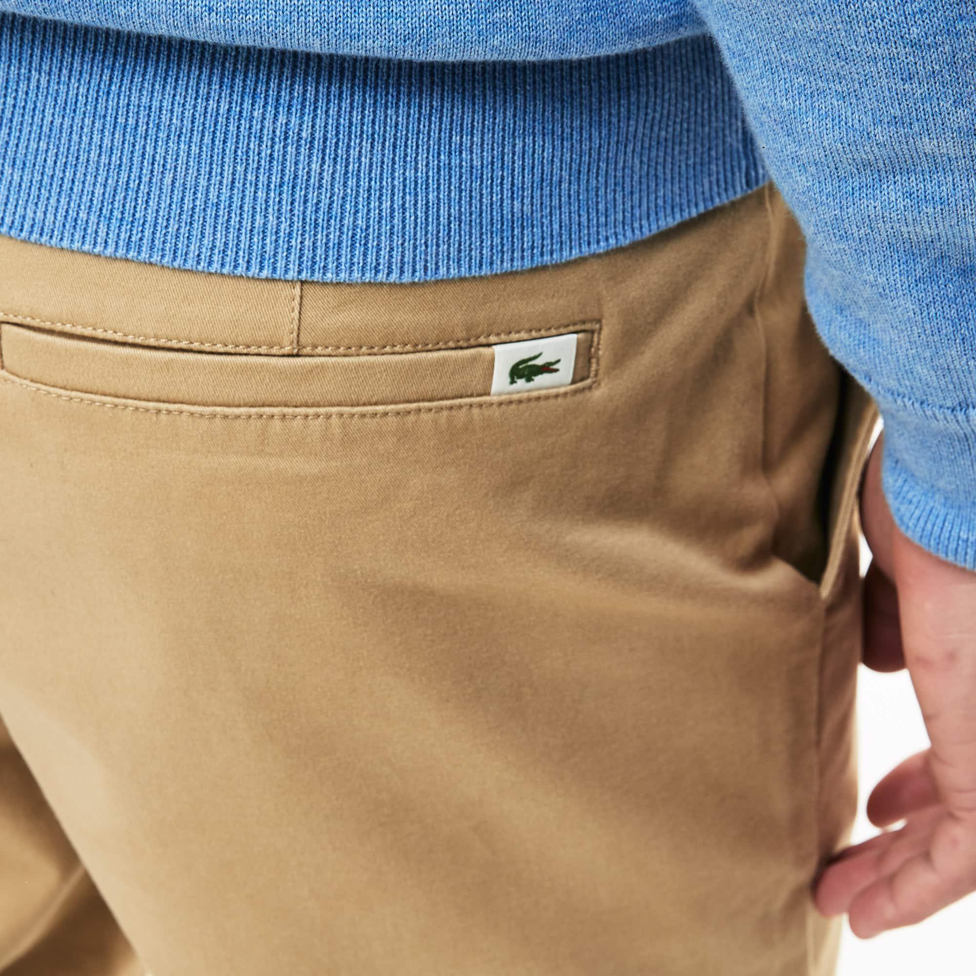 655a5ad5f4 Men's Regular Fit Cotton Gabardine Chino Pants   LACOSTE