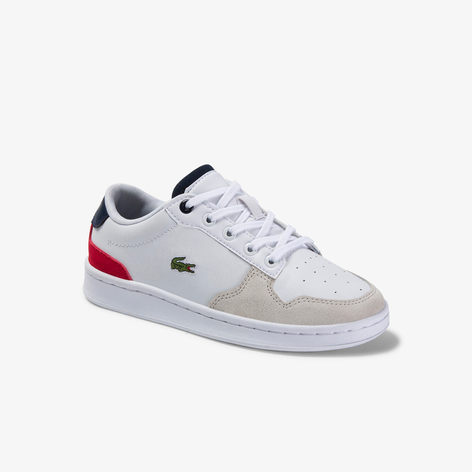 Children's Masters Cup Leather and Suede Trainers