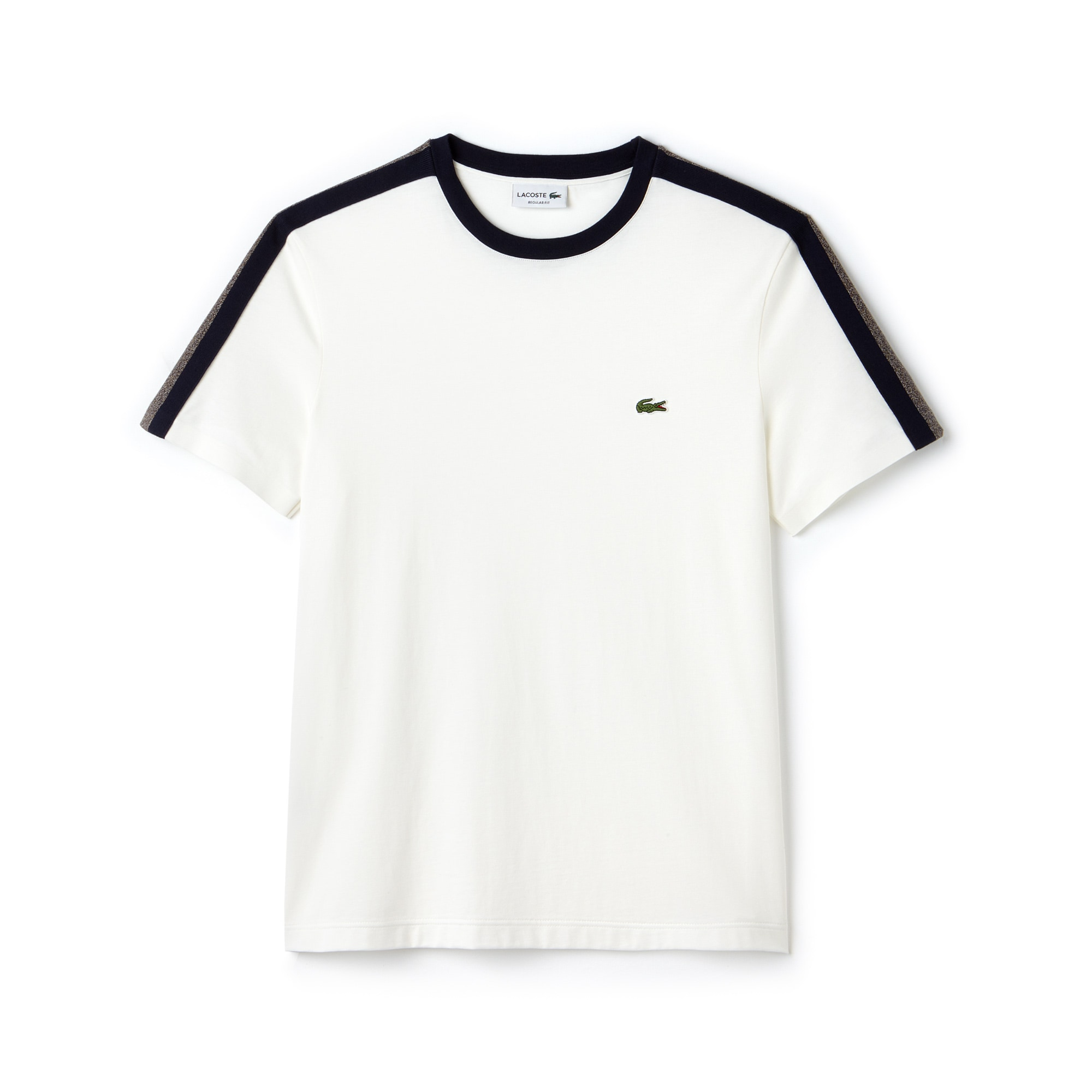 Men's Made In France Crew Neck Contrast Band Jersey T-shirt