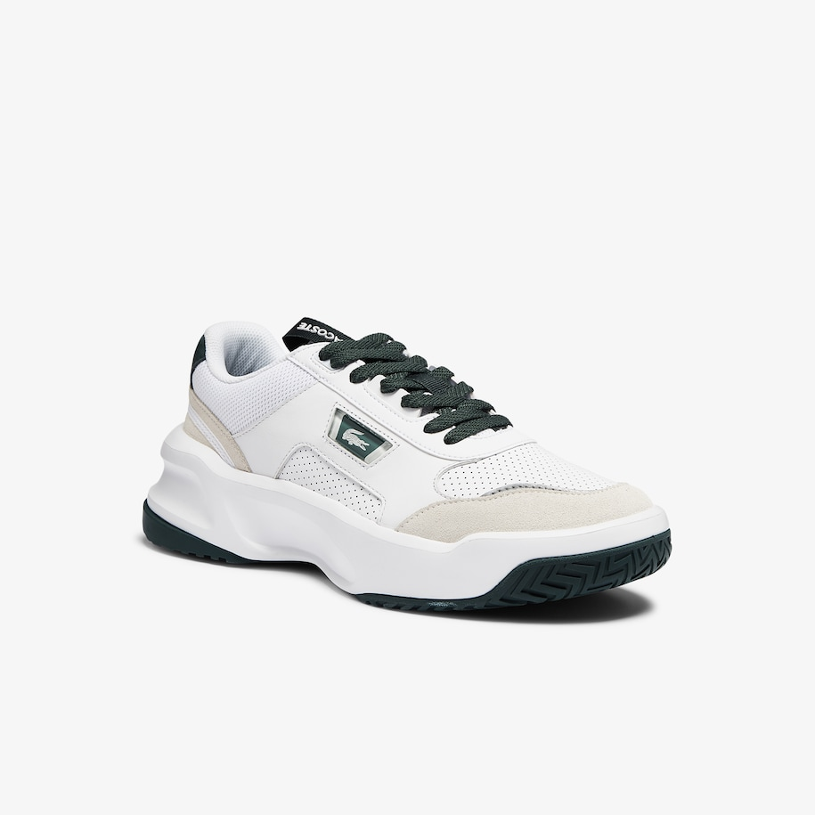 Men's Ace Lift Colourblock Leather Reflective Trainers