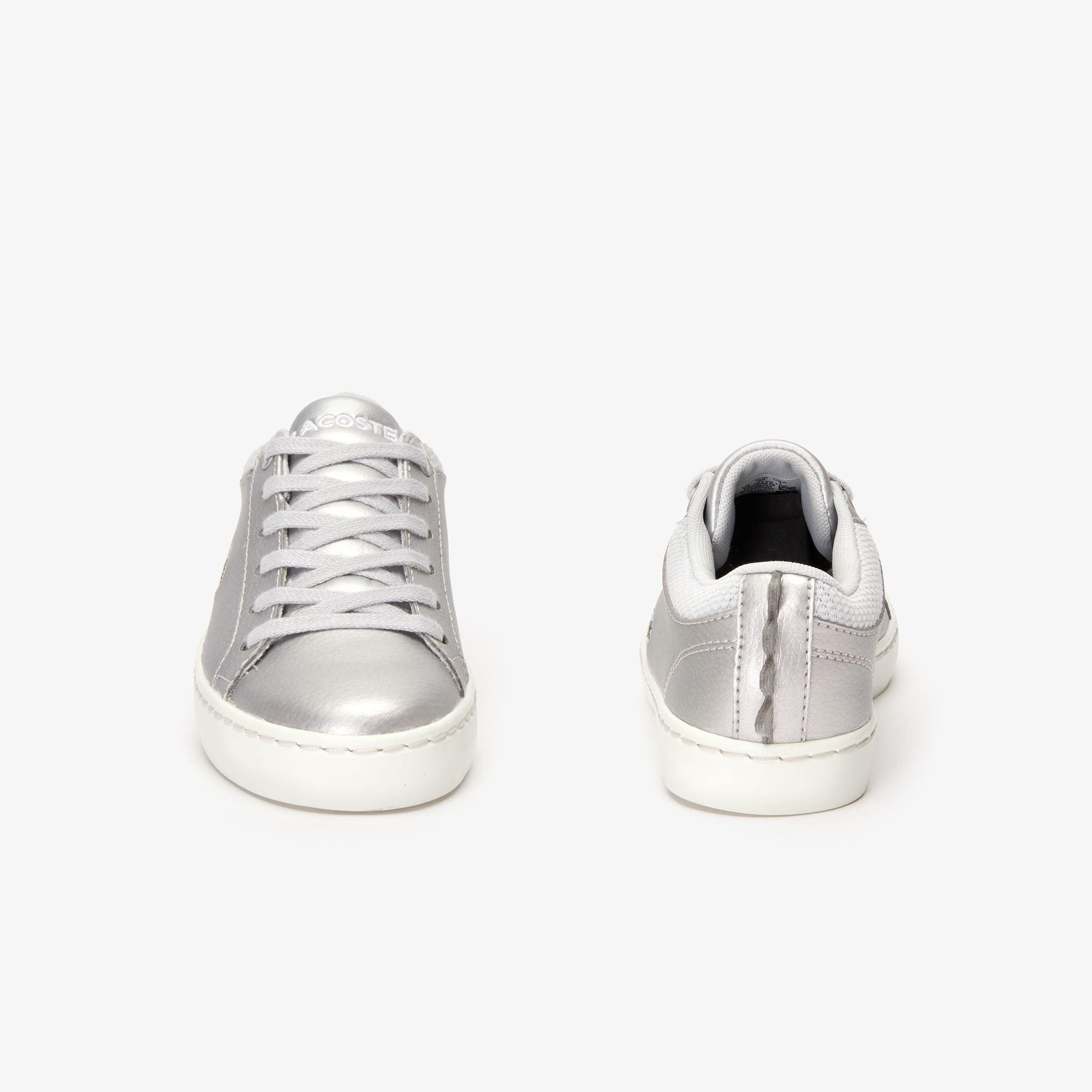 Children's Straightset Metallic Synthetic Trainers