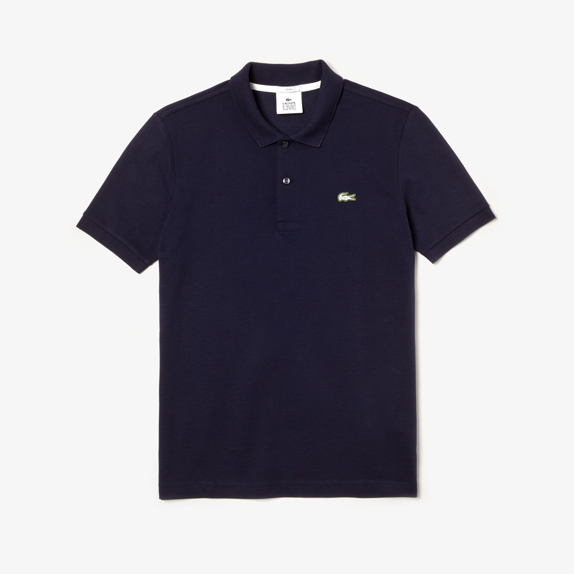 Unisex Lacoste LIVE Slim Fit Stretch Cotton Piqué Polo Shirt