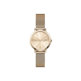 Women's Moon Ultra Slim Watch Small with Rose Gold Plated Mesh Bracelet