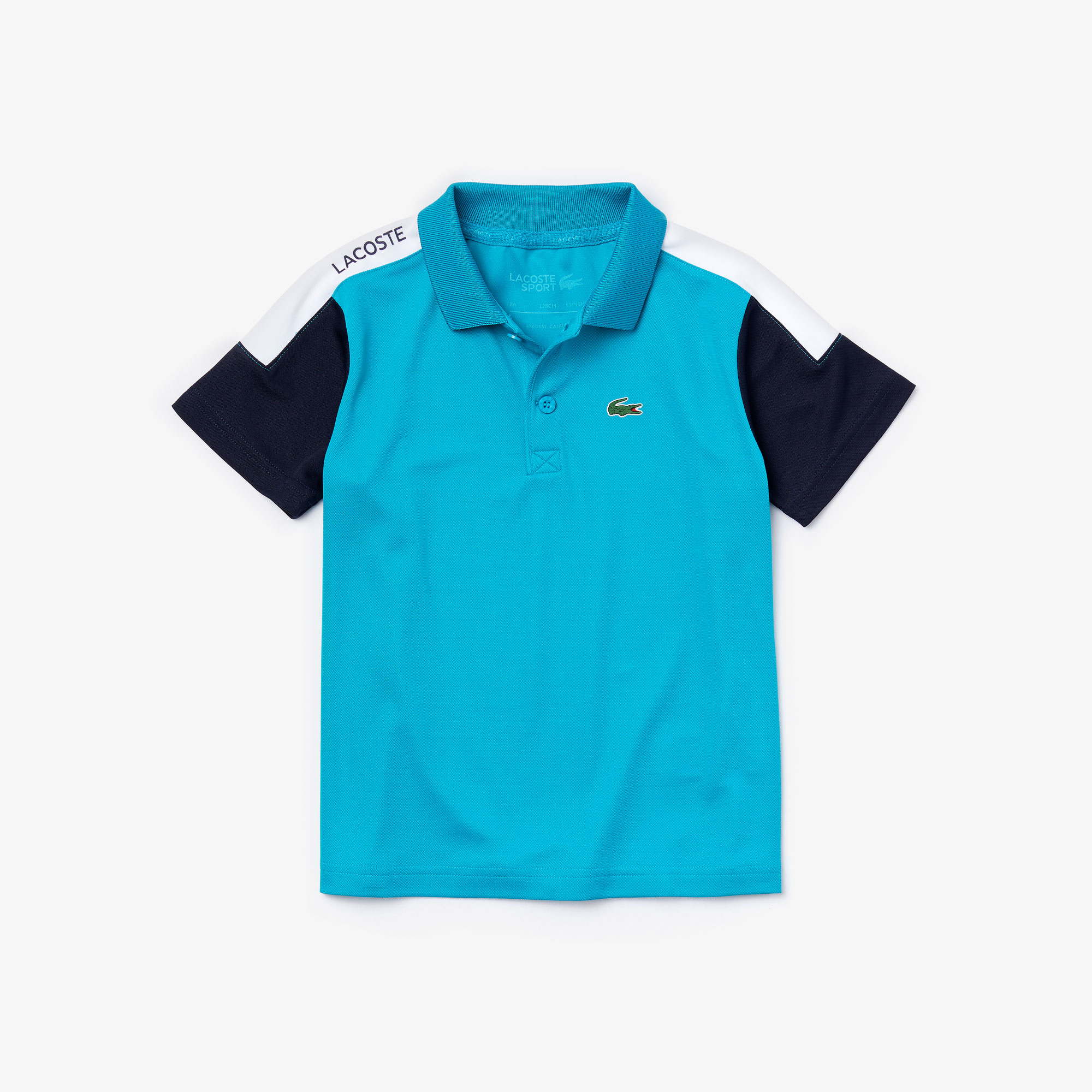 Boys' Lacoste SPORT Breathable, Run-Resistant Tennis Polo Shirt