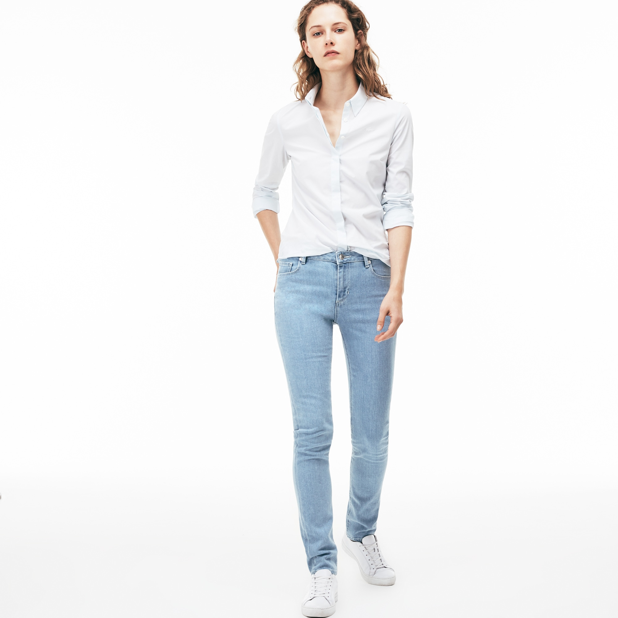 a9bb26dbb4d0b5 Women's Skinny fit jeans in stretch cotton ...