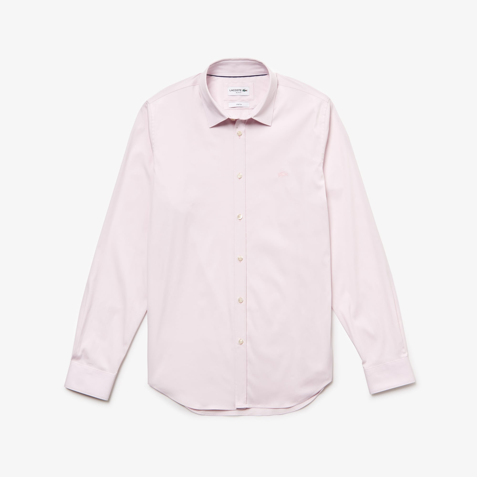 Men's Slim Fit Stretch Cotton Poplin Shirt