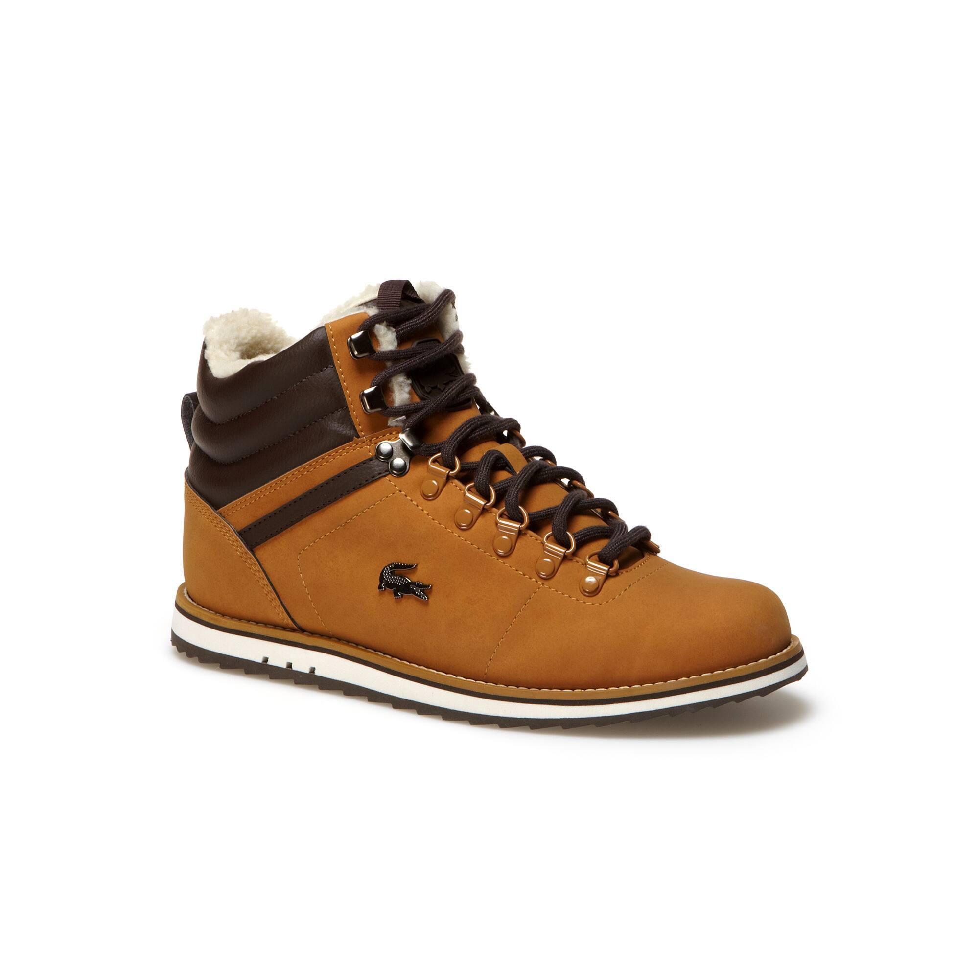 Jarmund Put 2 two-tone high-top boots