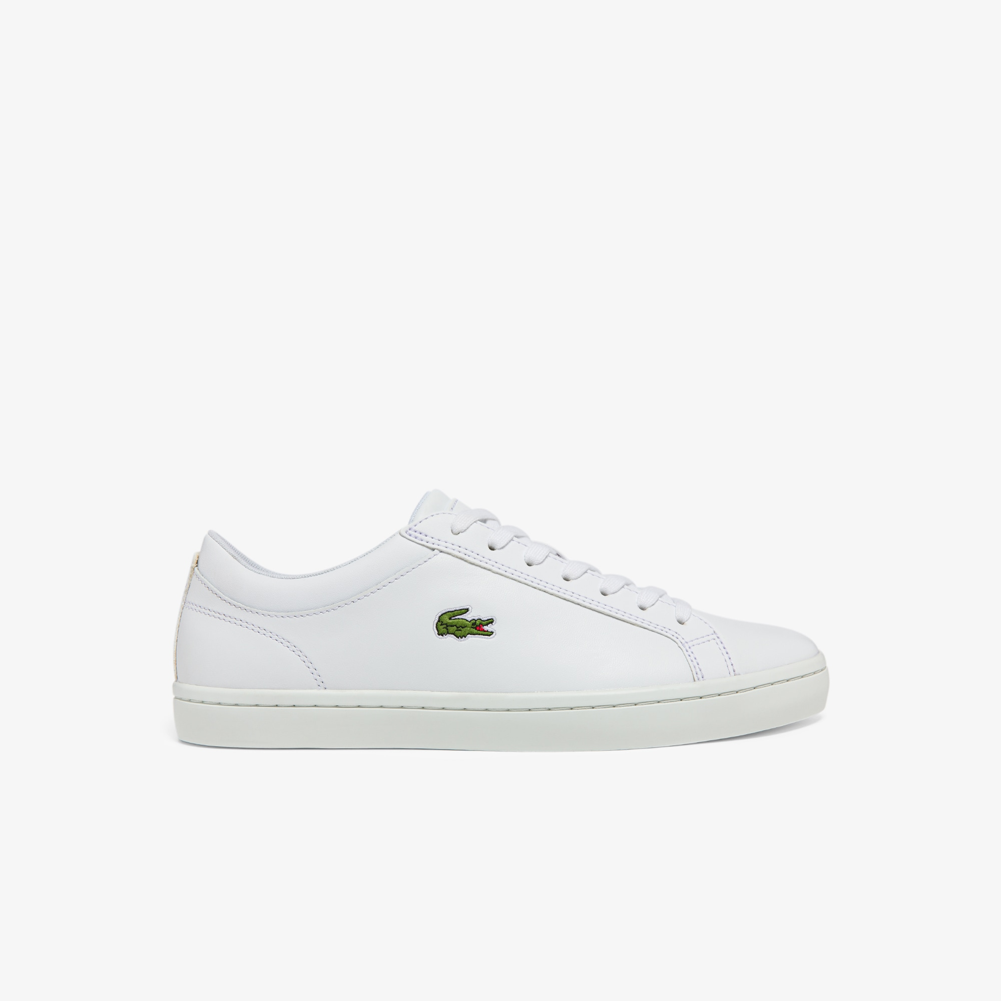Straightset Leather Trainers | LACOSTE
