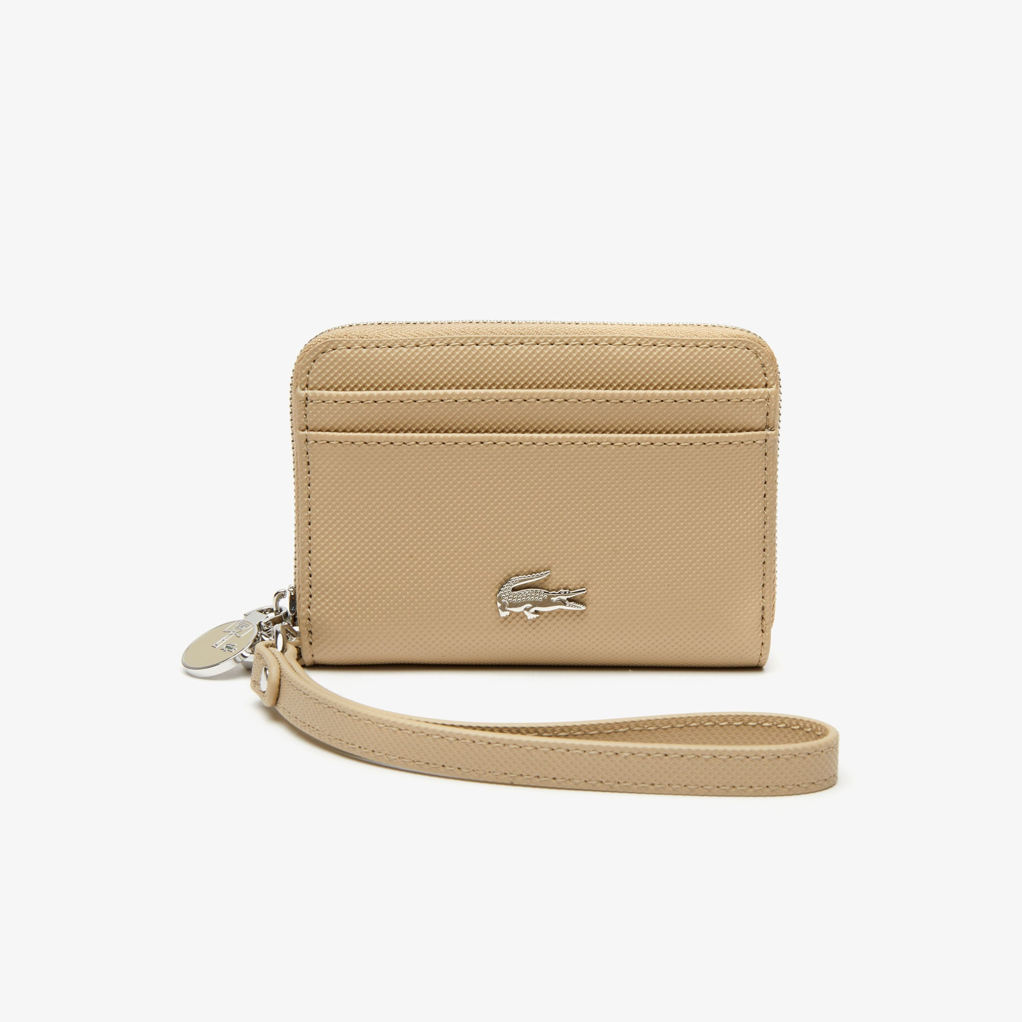 Women's Daily Classic Small Coated Piqué Canvas Zip Wallet