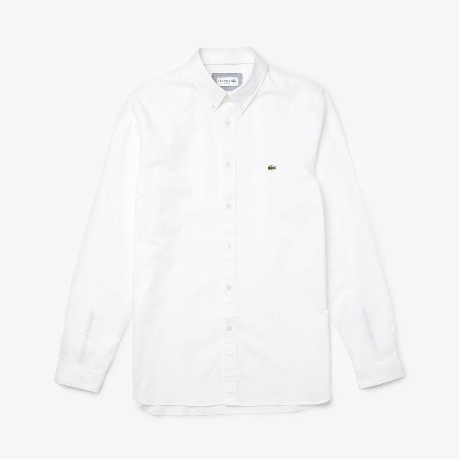 Slim Fit Stretch Oxford Cotton Shirt
