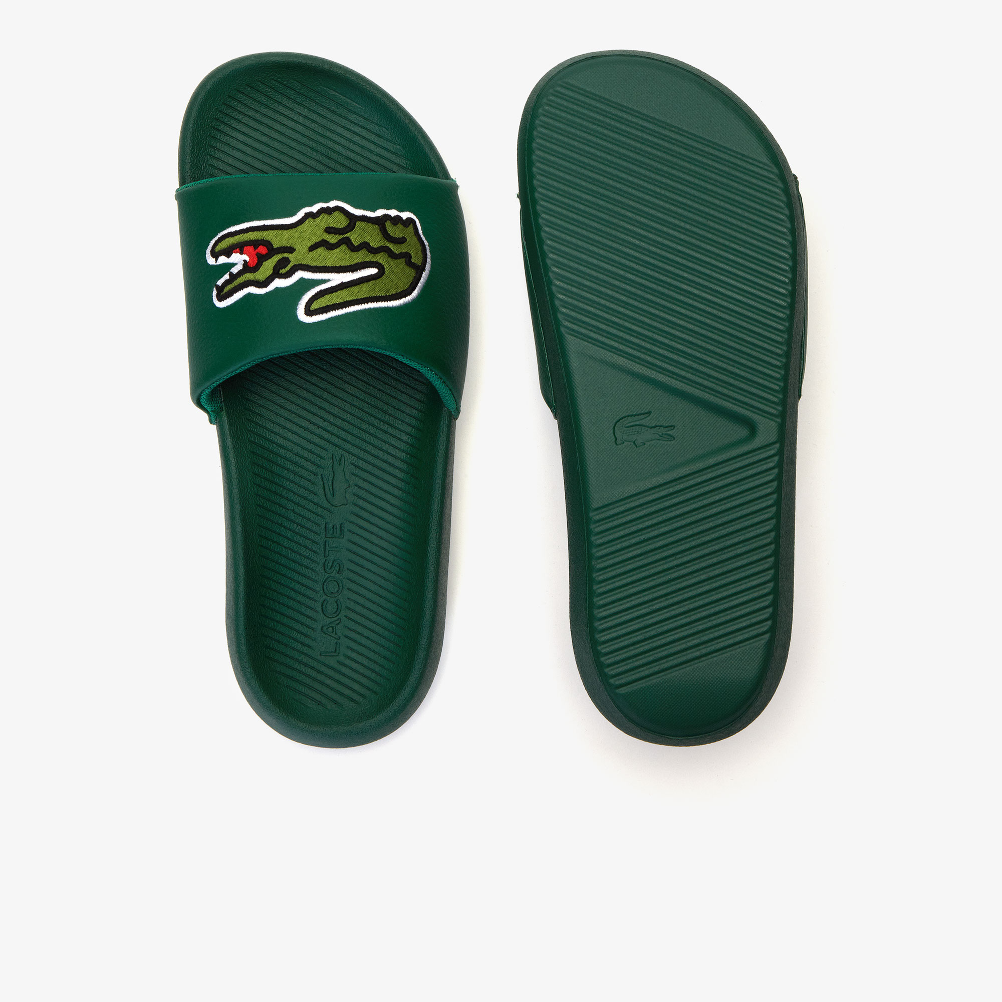 Women's Croco Synthetic Slides