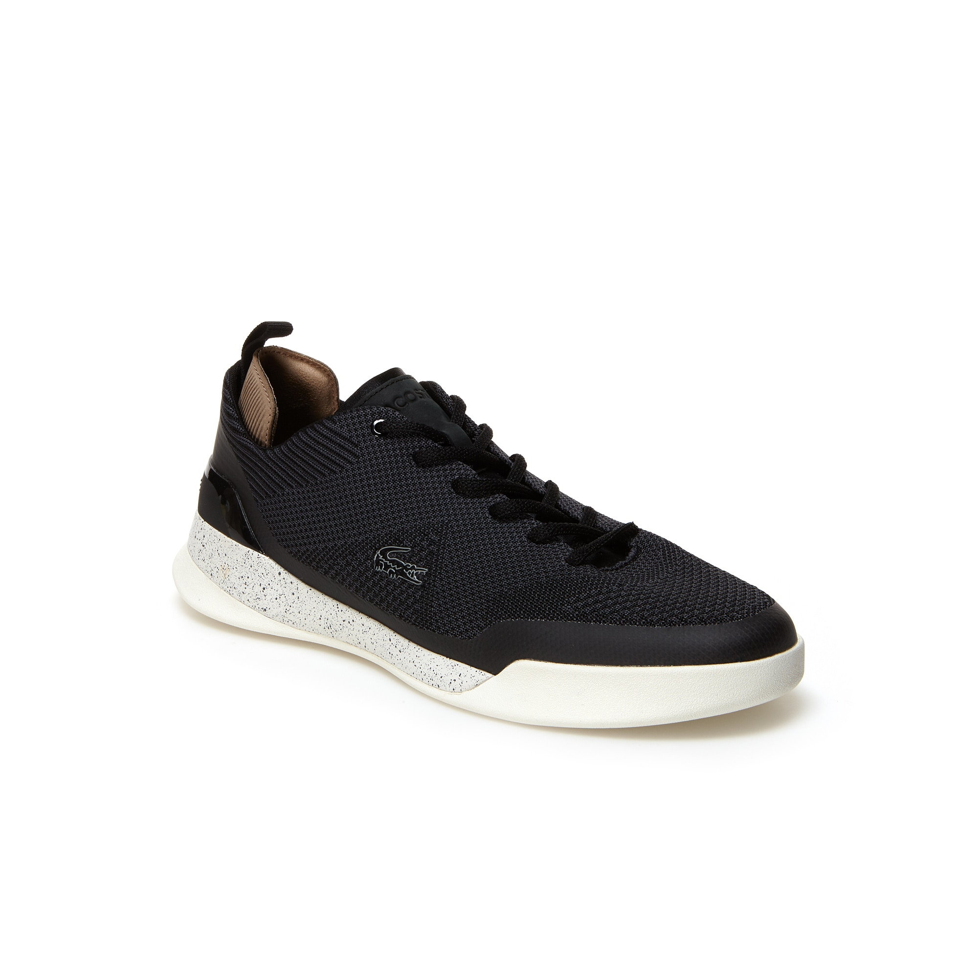 Lacoste DUAL ELITE - Trainers - black/dark grey C1ujbe