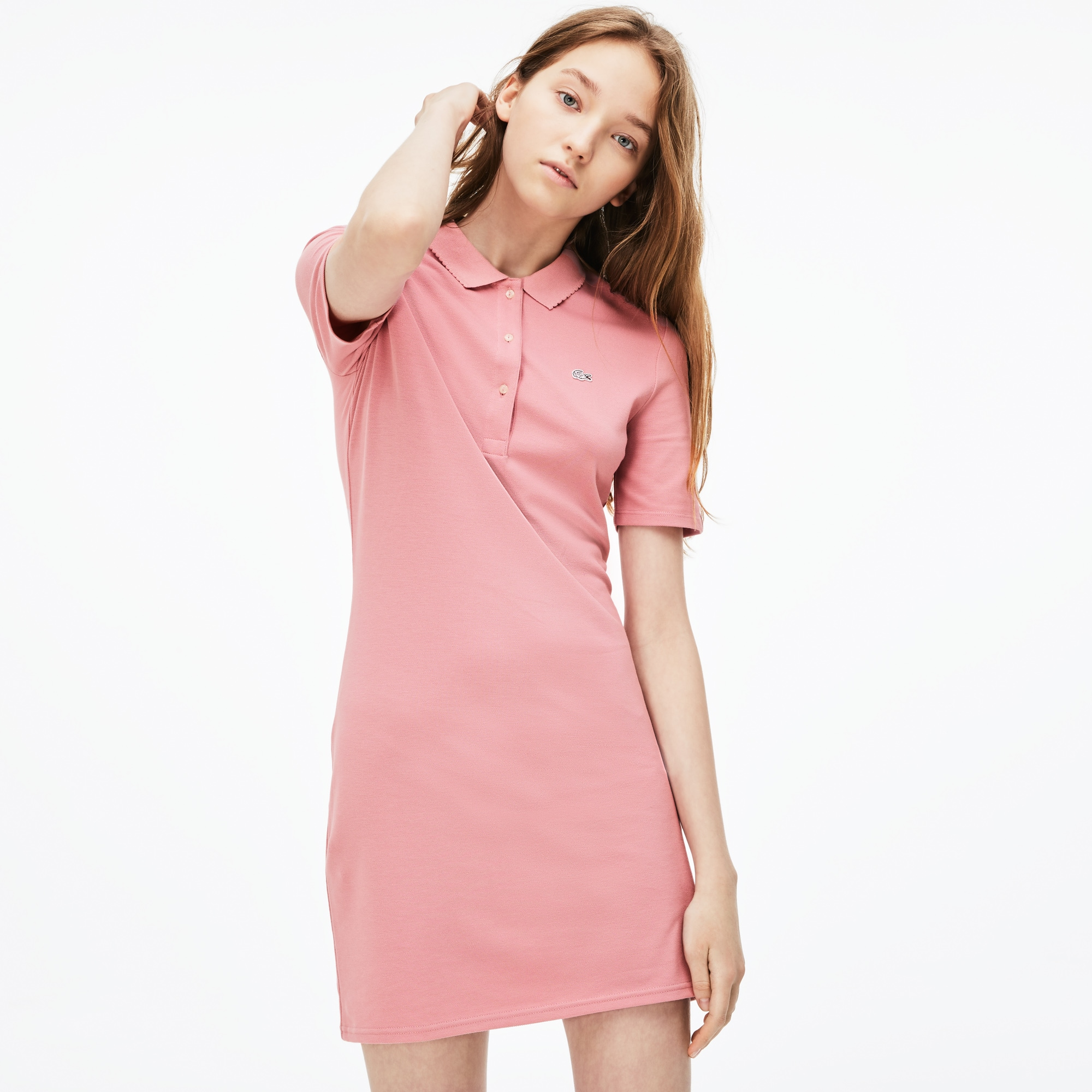 Women's Lacoste LIVE Stretch Petit Piqué Polo Dress