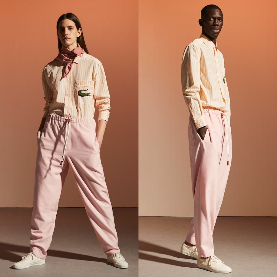 Unisex Fashion Show Edition Oversize Wool Blend Pants