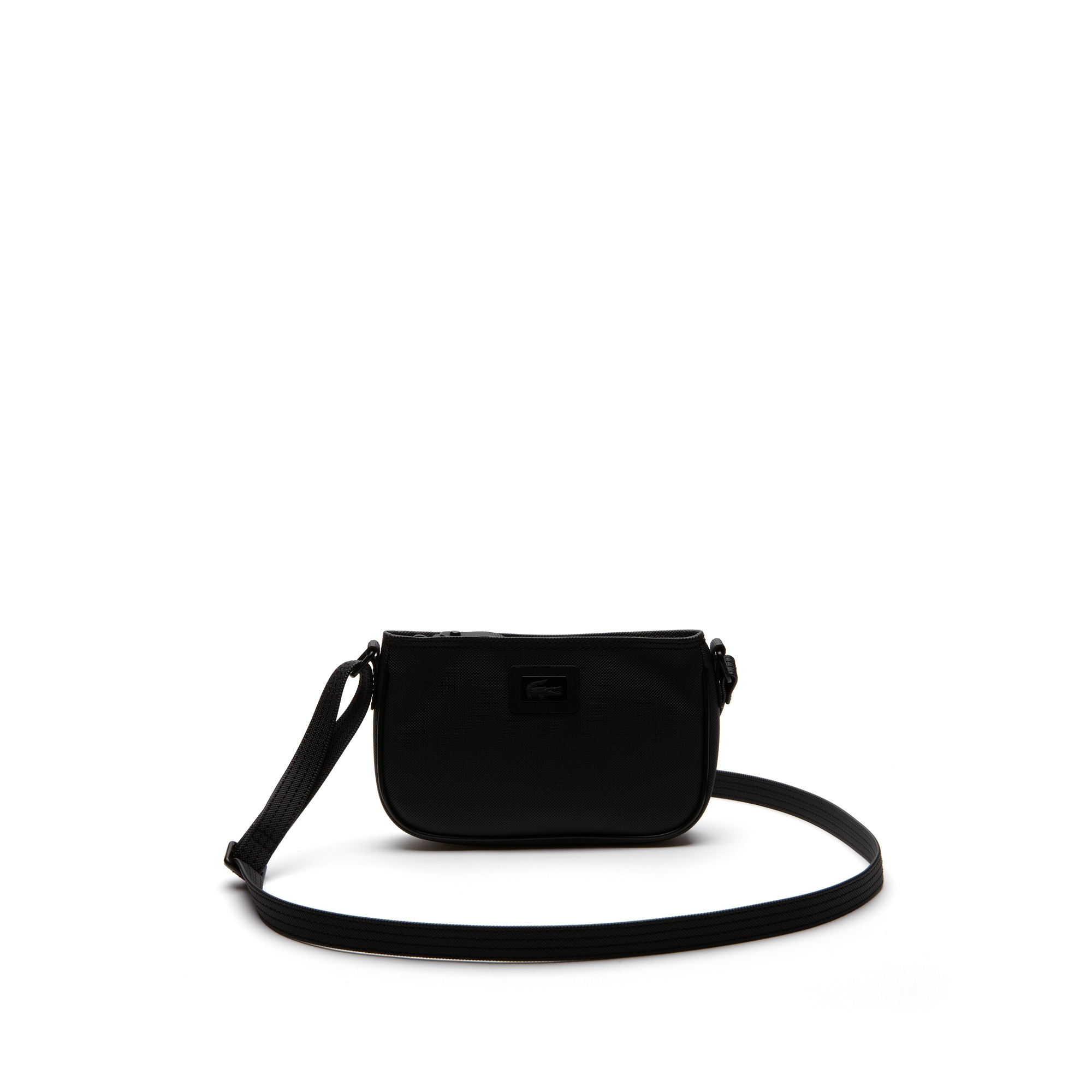 Women's Classic monochrome zippered clutch