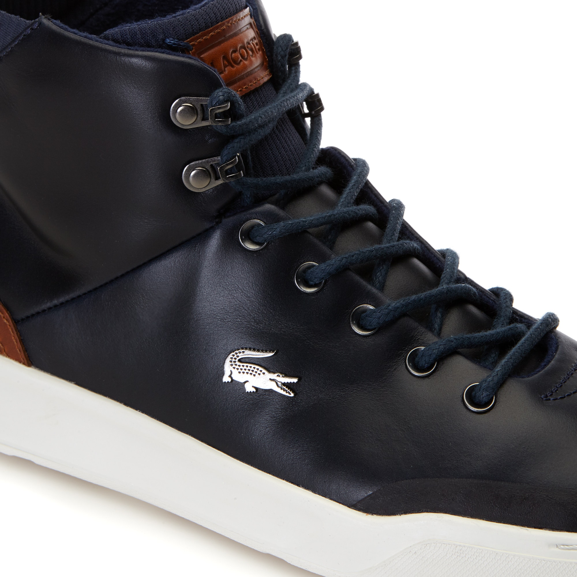 Men's Explorateur Classic High-top Leather Trainers