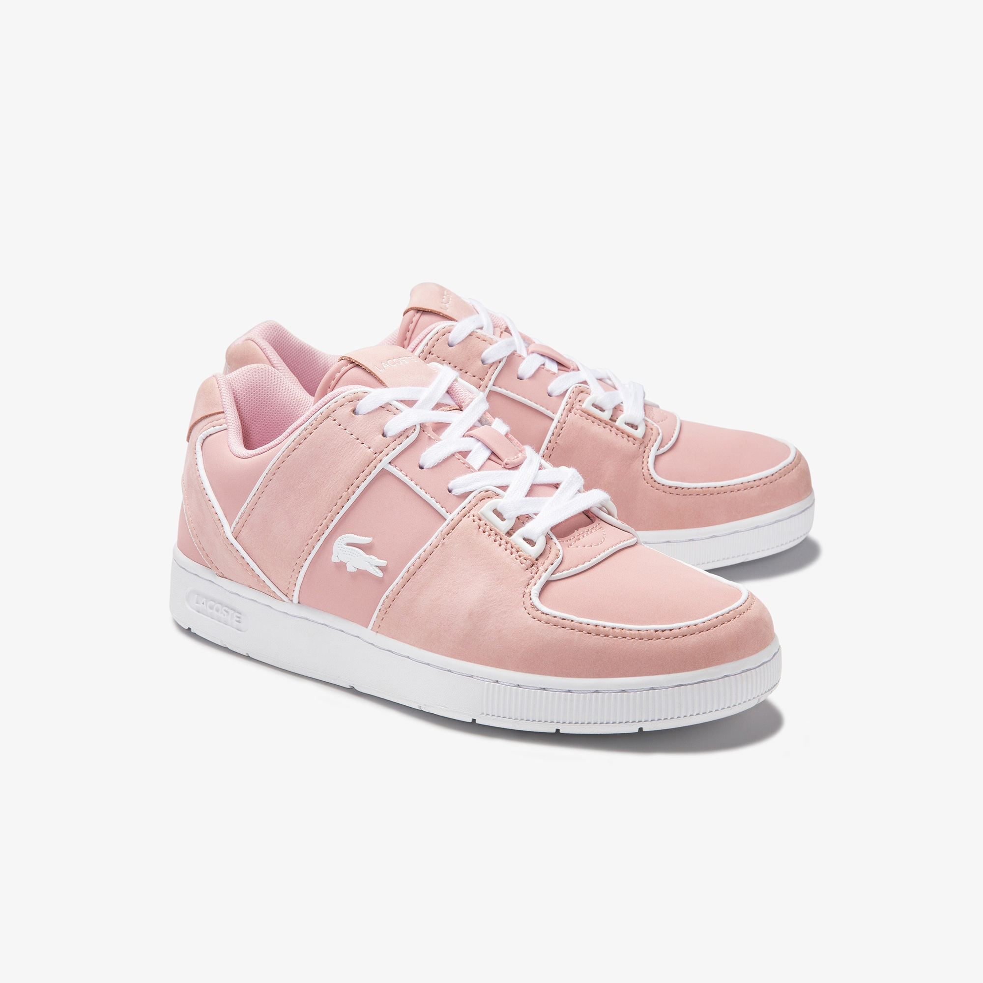 Women's Thrill Leather Trainers   LACOSTE