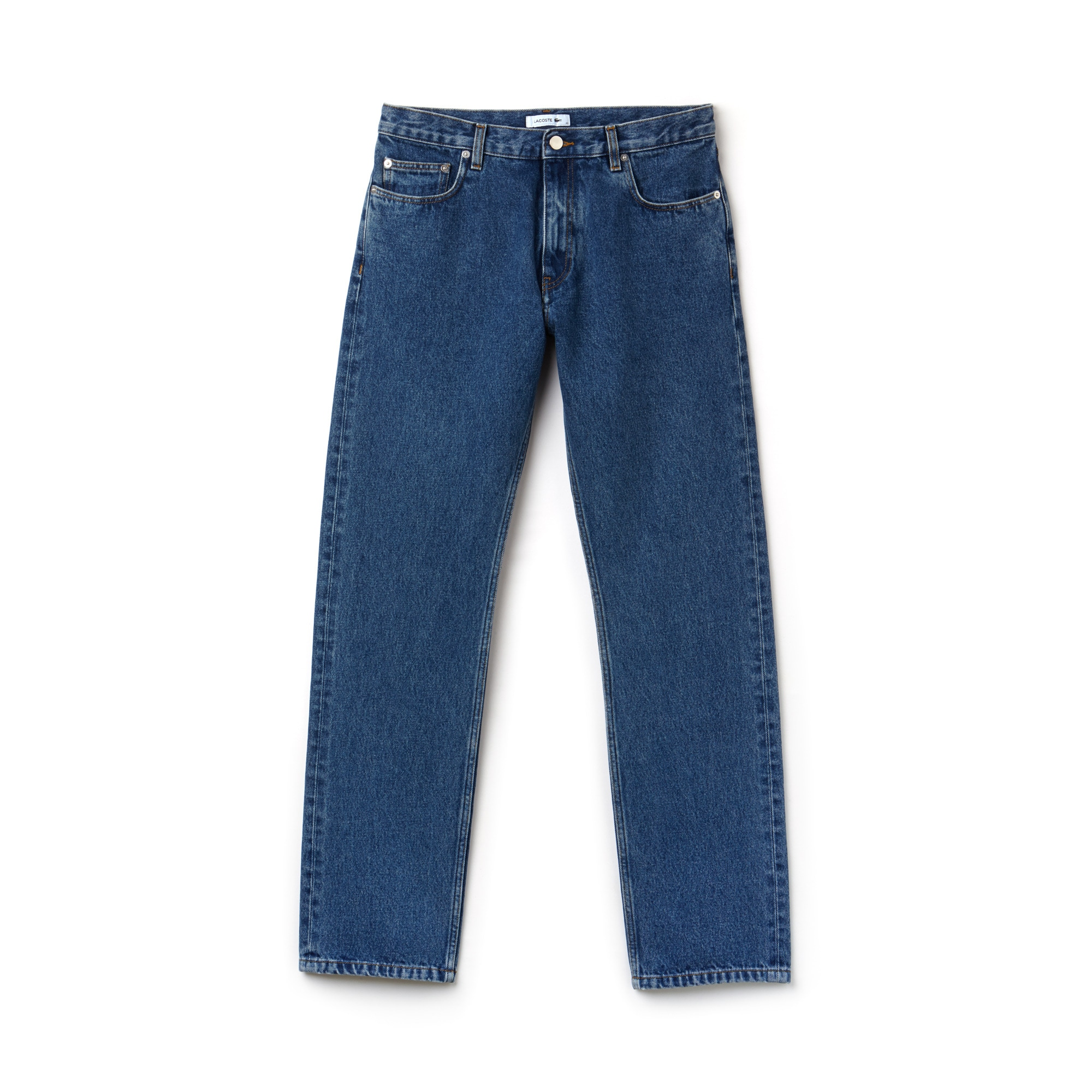 Men's Fashion Show Wide-Leg 5-pocket Jeans