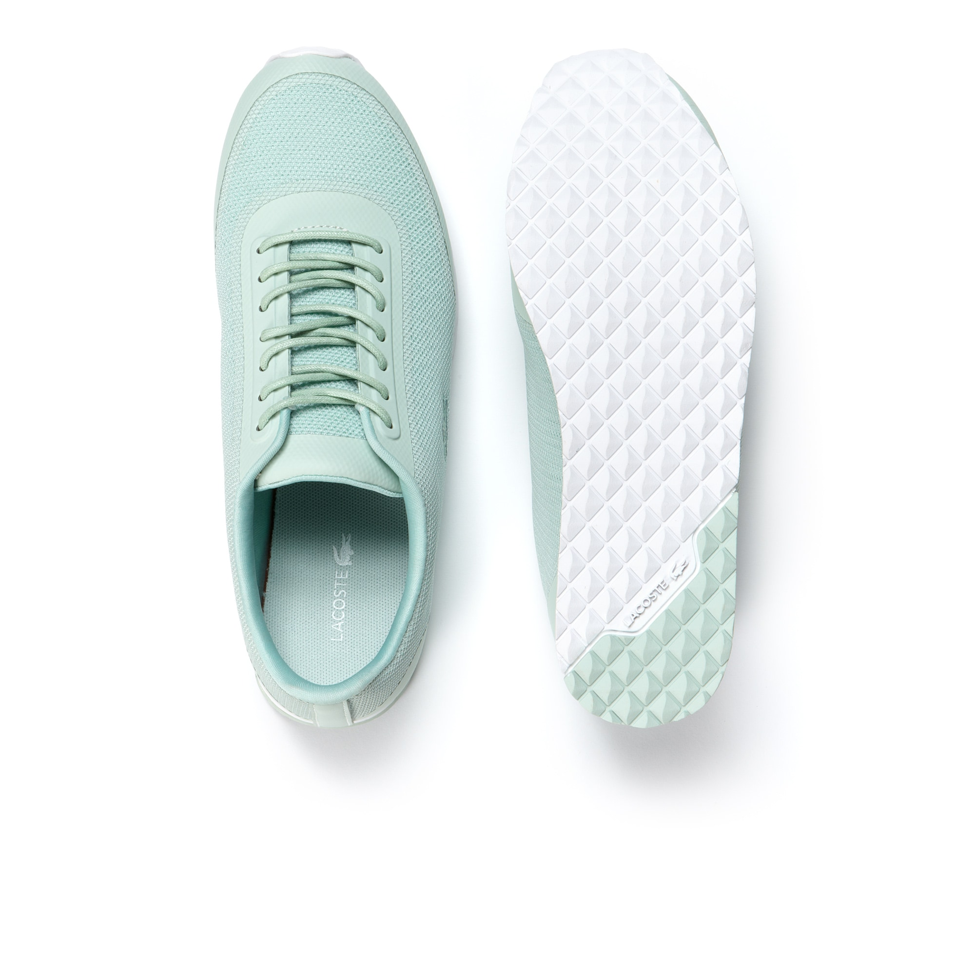 Helaine Runner trainers in canvas   LACOSTE