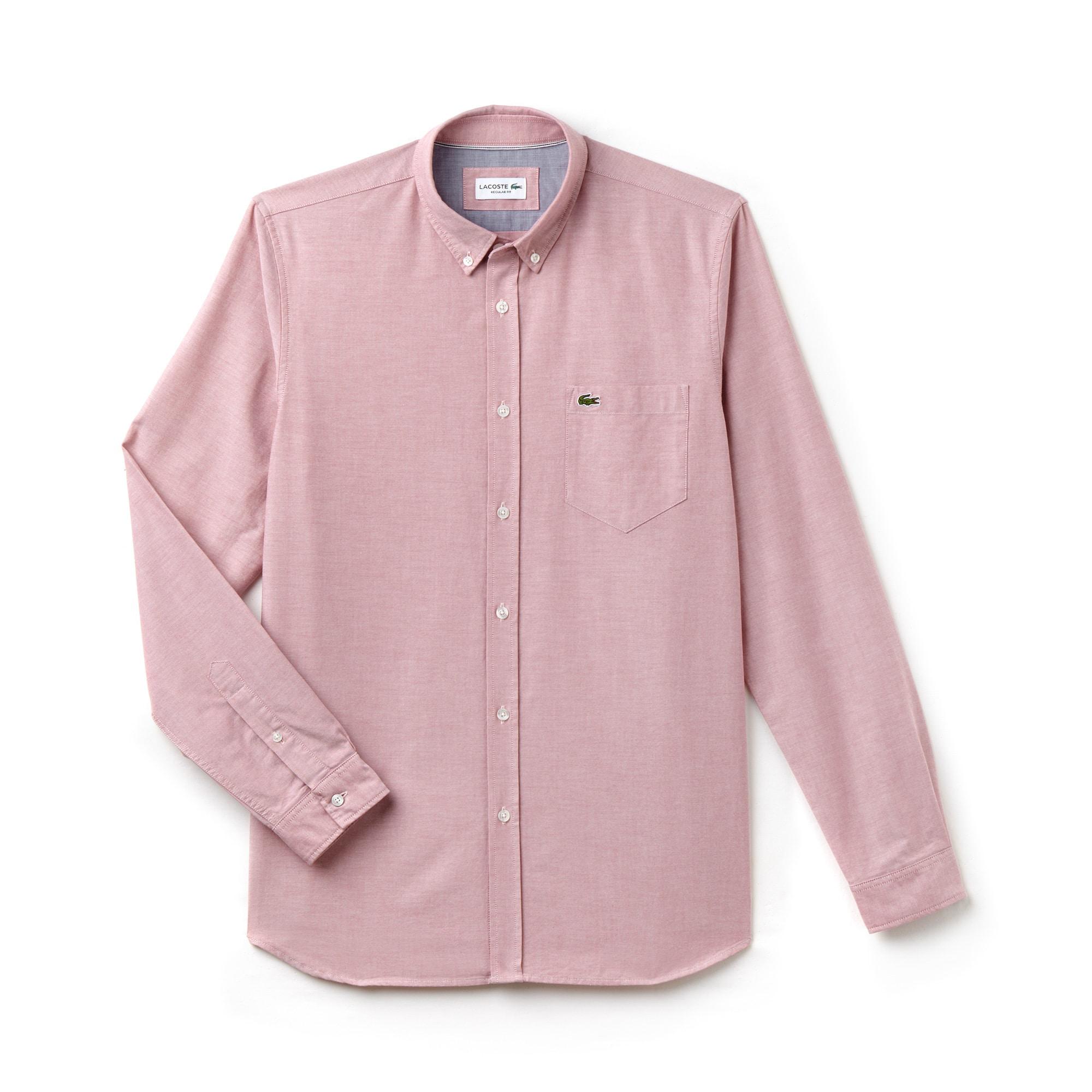 Men's Regular Fit Cotton Oxford Shirt