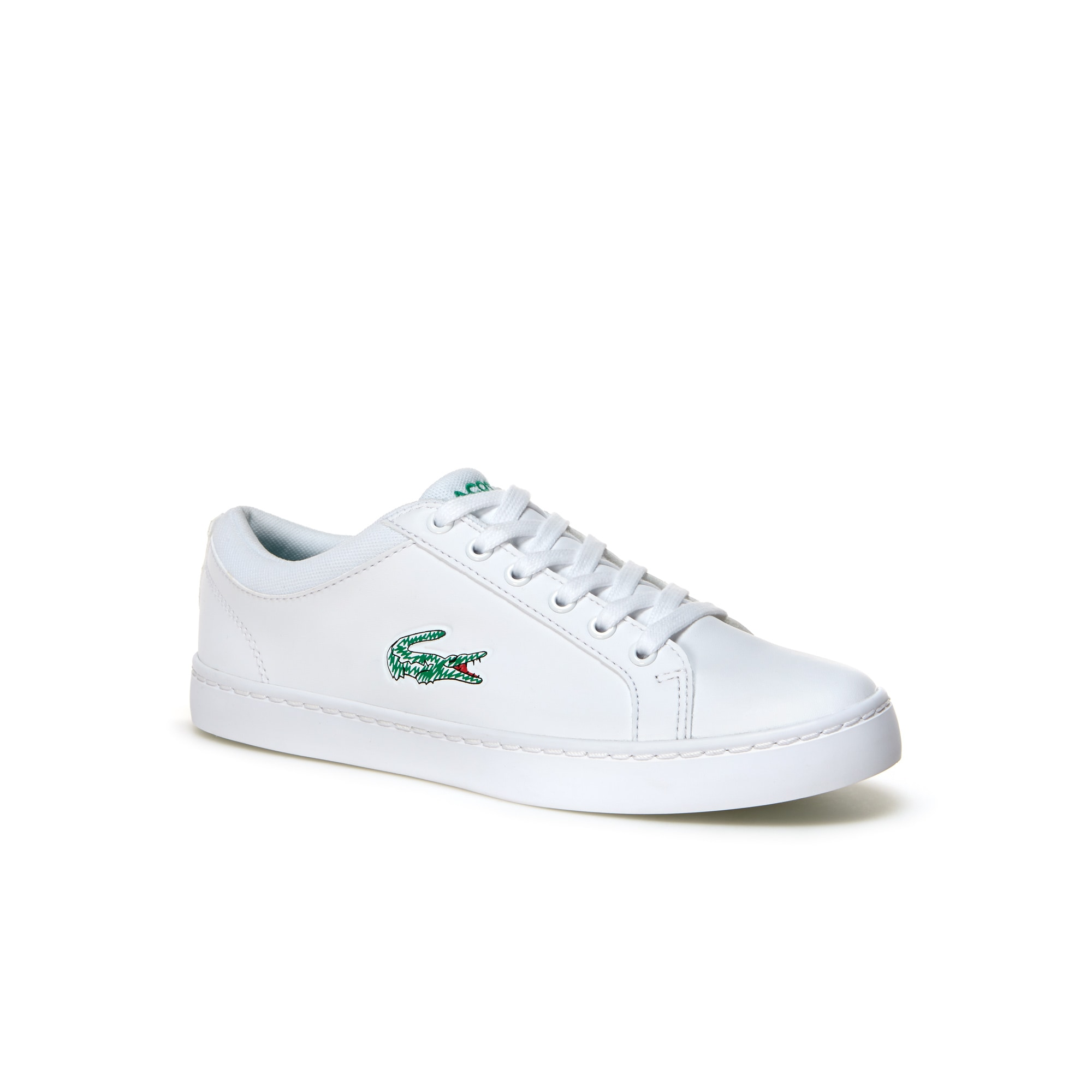 Youths' Straightset Lace Leather-look Trainers