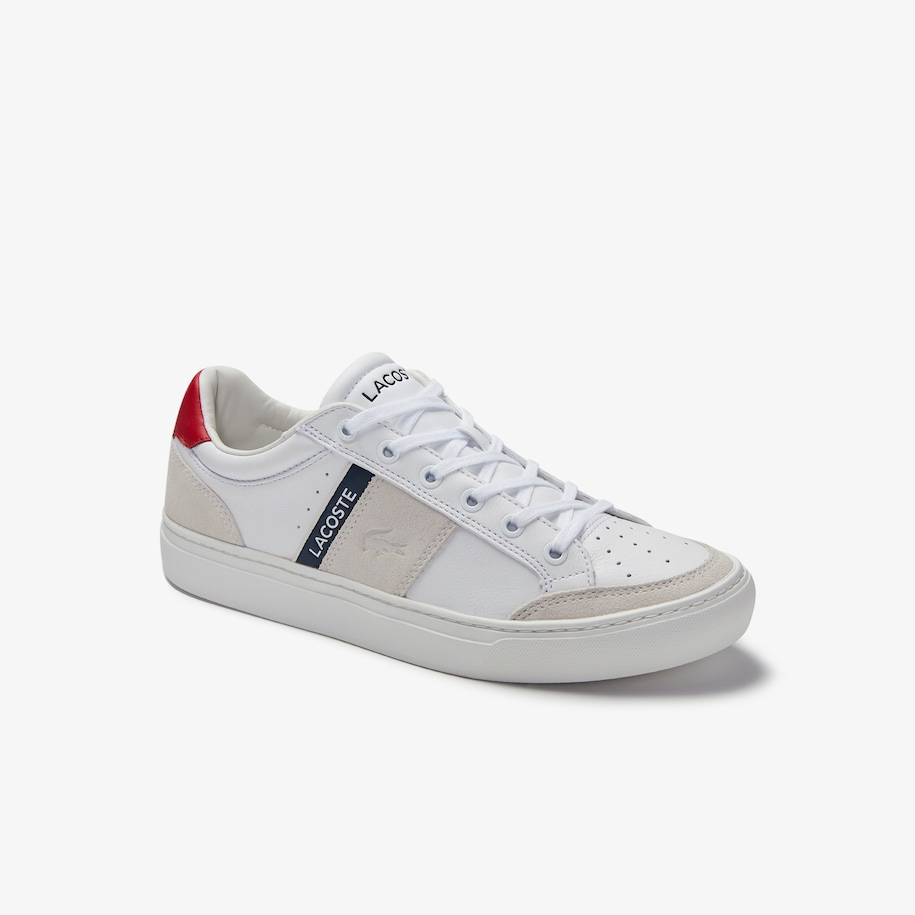 Men's Courtline Traditional Leather Trainers