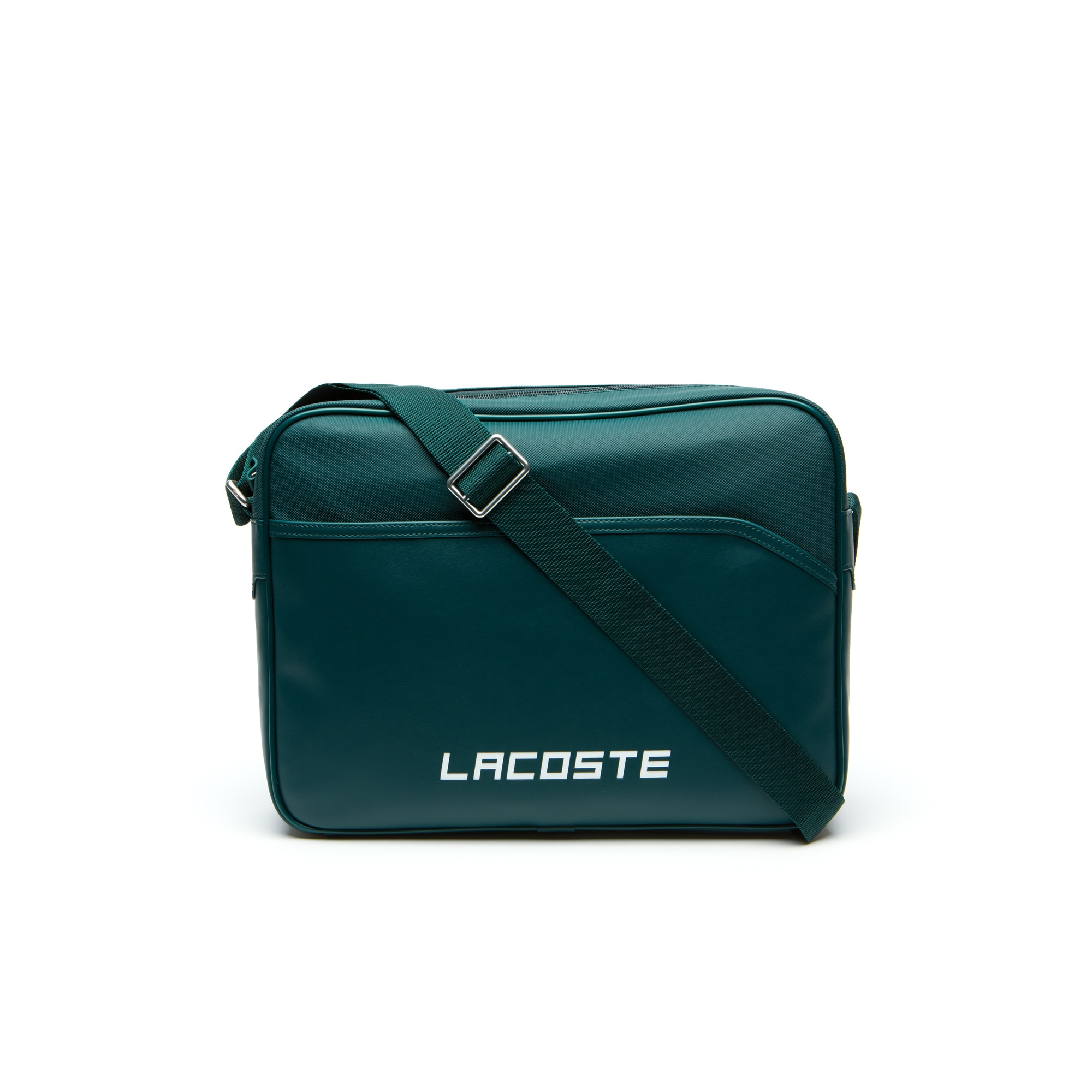 Men's Ultimum Lacoste Lettering Petit Piqué Airline Bag