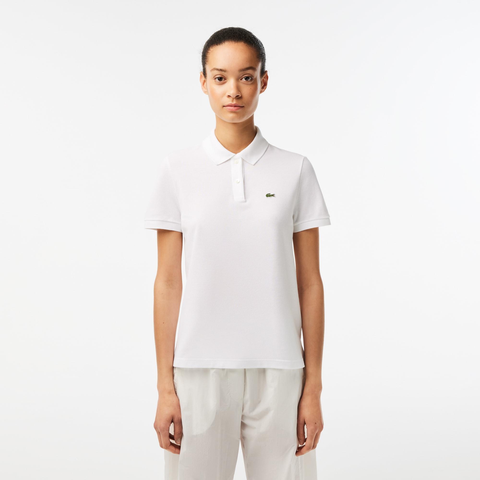 Women's Lacoste Regular Fit Soft Cotton Petit Piqué Polo Shirt