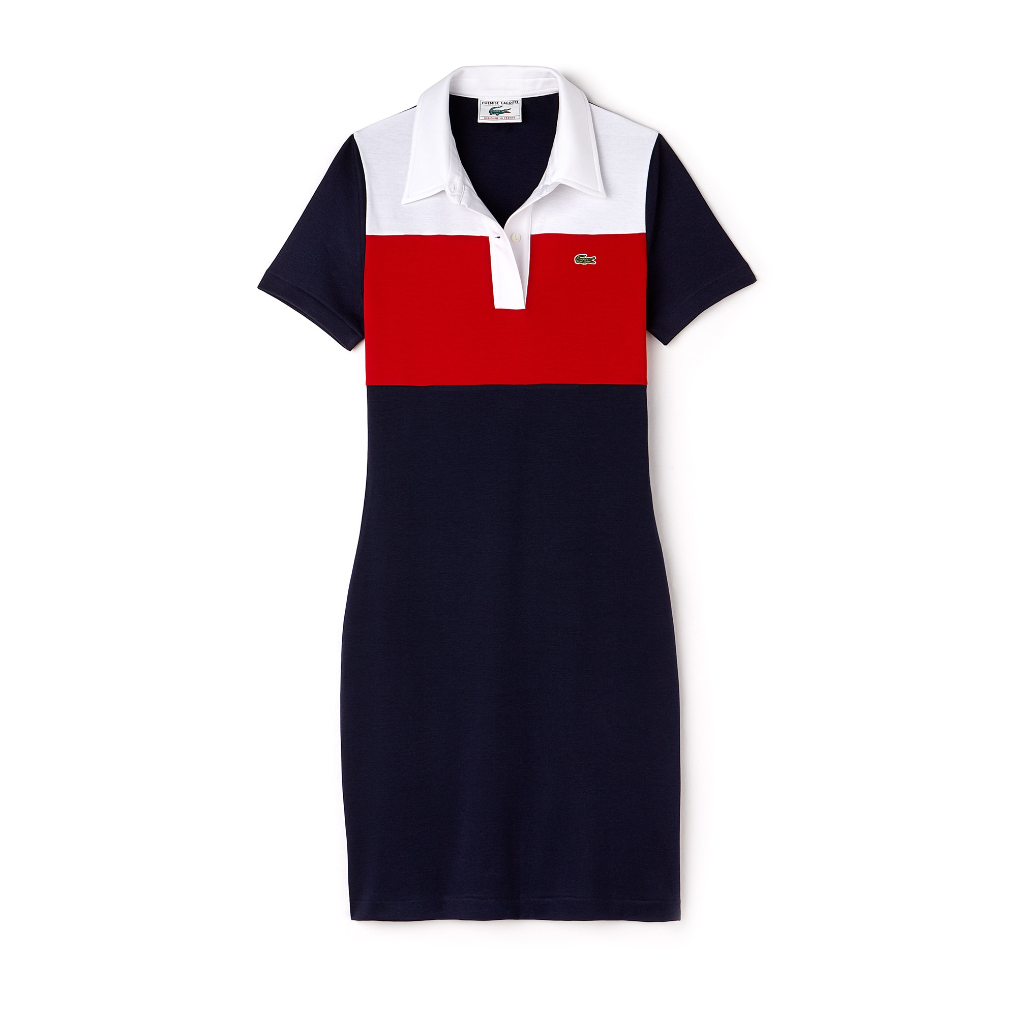 Women's Lacoste 1970s revival 85th Anniversary Limited Edition Polo Dress