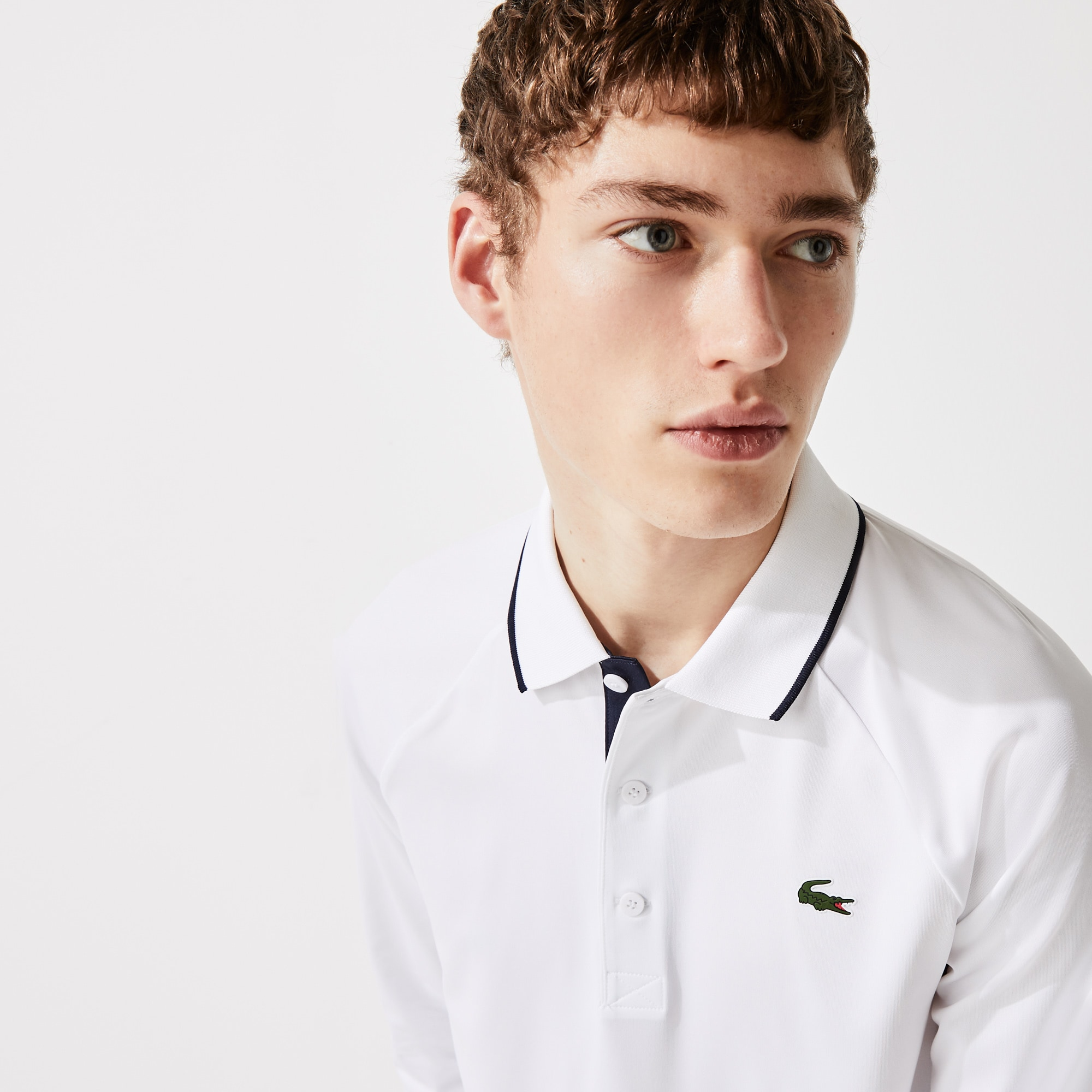 Men's Lacoste SPORT Breathable Golf Polo Shirt