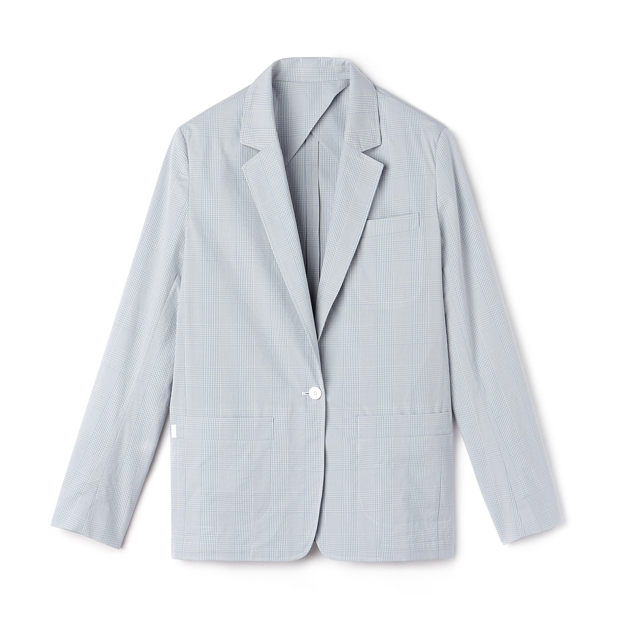 Women's Cotton Seersucker Blazer
