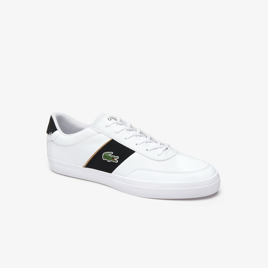 Men's Court-Master Tumbled Leather Trainers