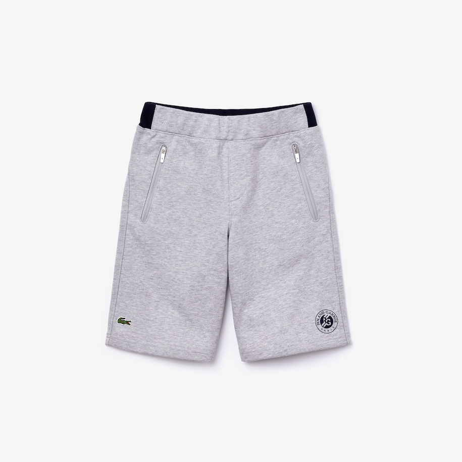 Boys' Lacoste SPORT Roland Garros Fleece Shorts