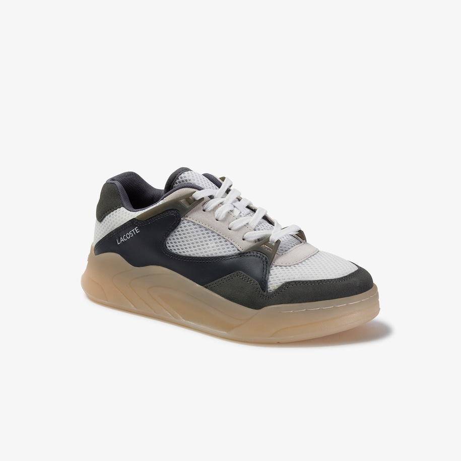 Women's Court Slam Dynamic Suede and Textile Trainers