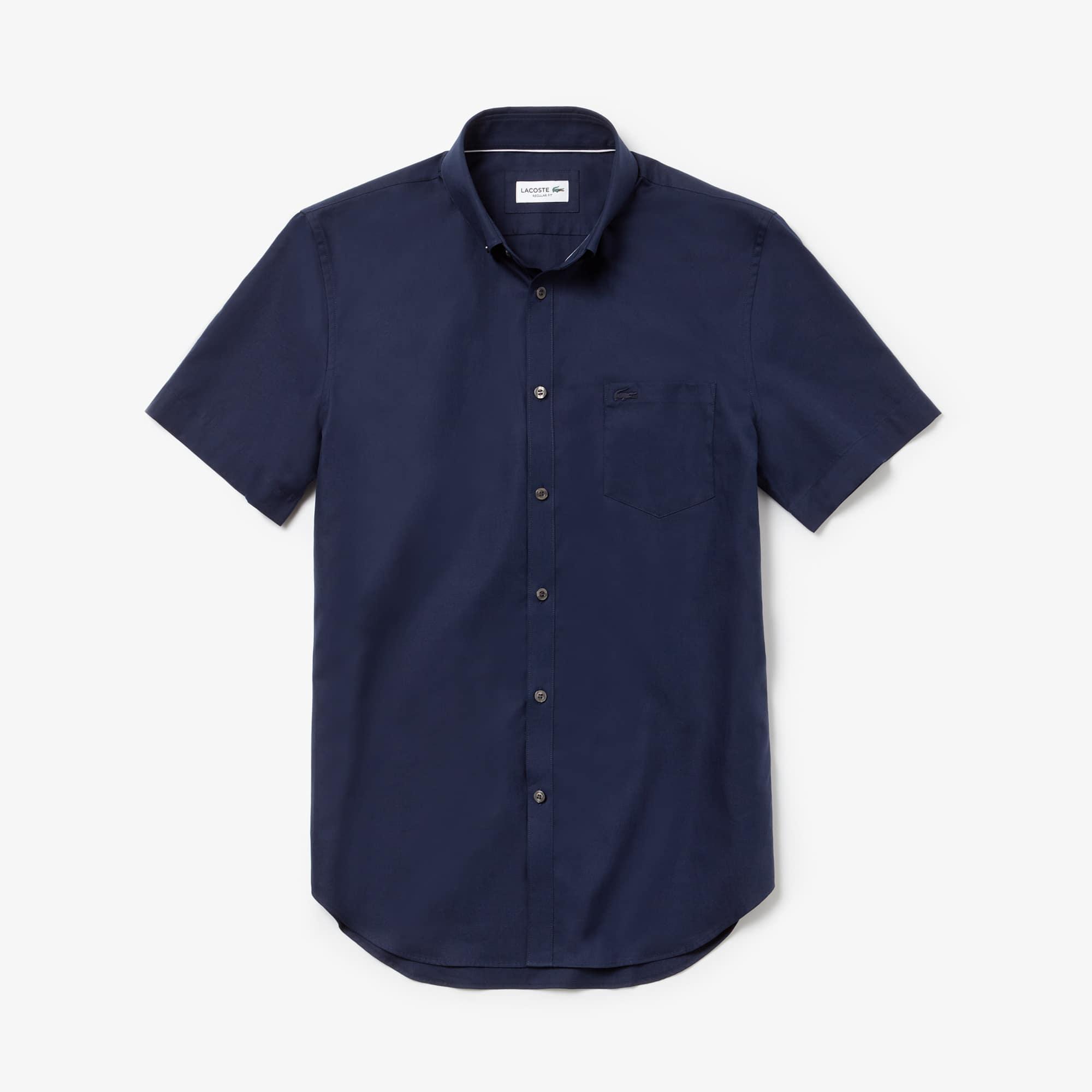Men's Regular Fit Mini Piqué Shirt