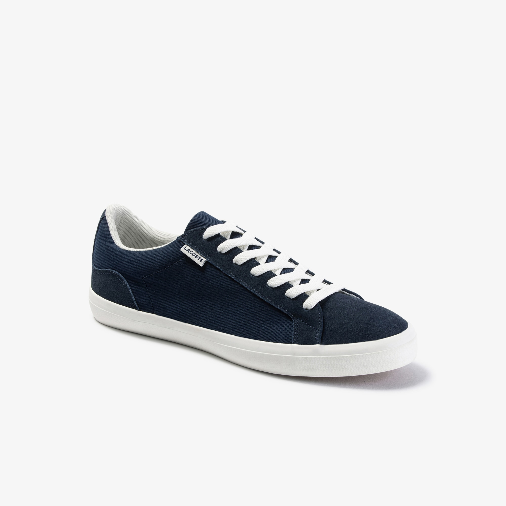 Men's Lerond Canvas and Suede Trainers