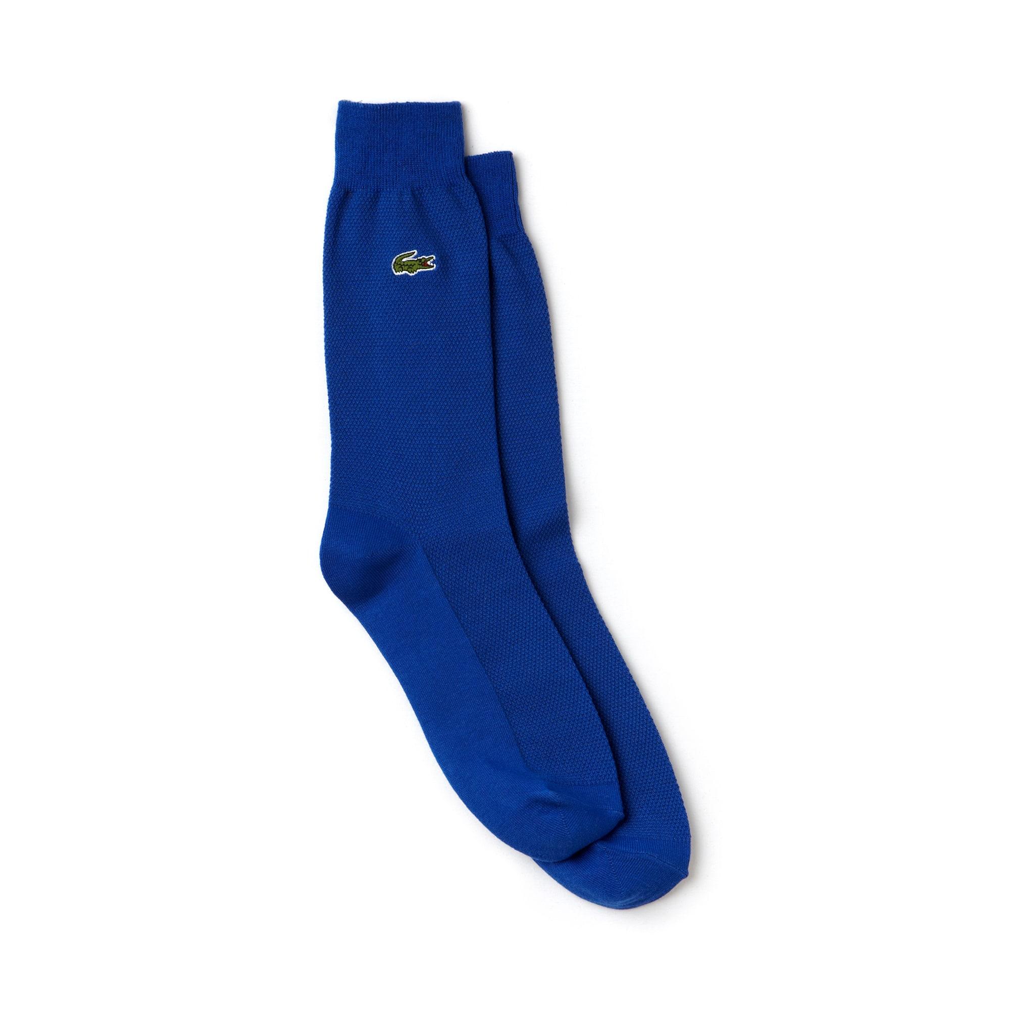 Men's Socks in stretch cotton jersey