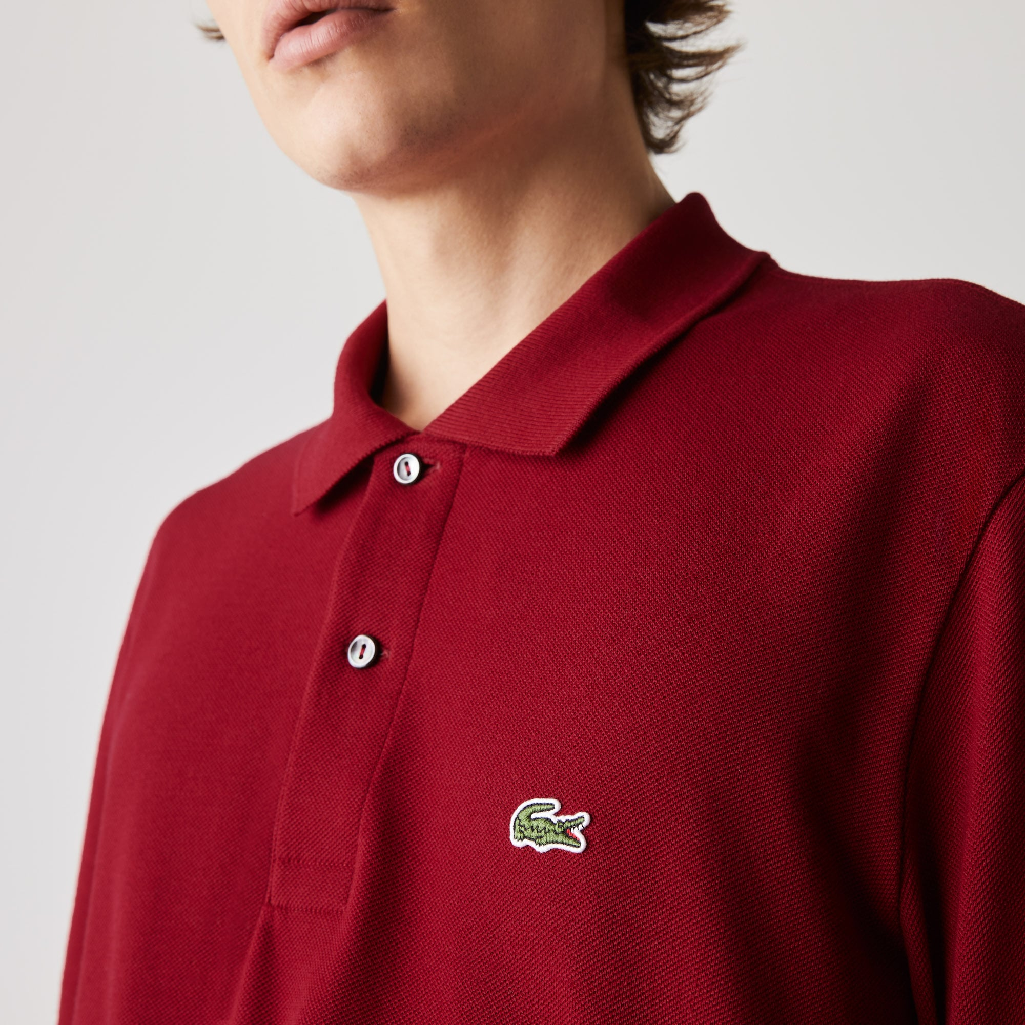 96cd2101 Long-sleeve Lacoste Classic Fit L.12.12 Polo Shirt | LACOSTE