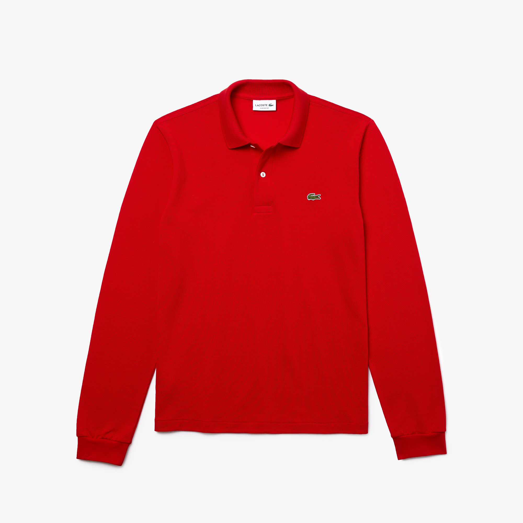Long-sleeve Lacoste Classic Fit L.12.12 Polo Shirt