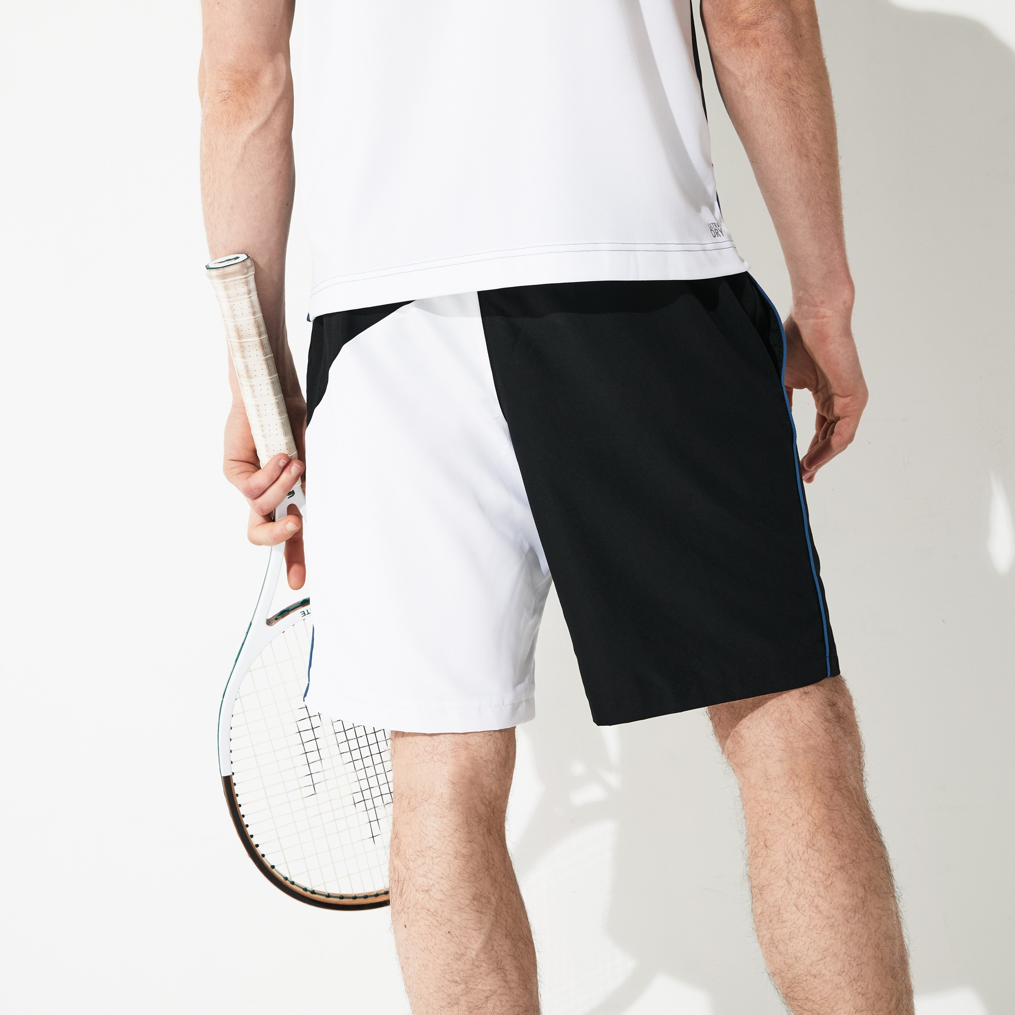 Men's Lacoste SPORT Contrast Edging Colourblock Shorts